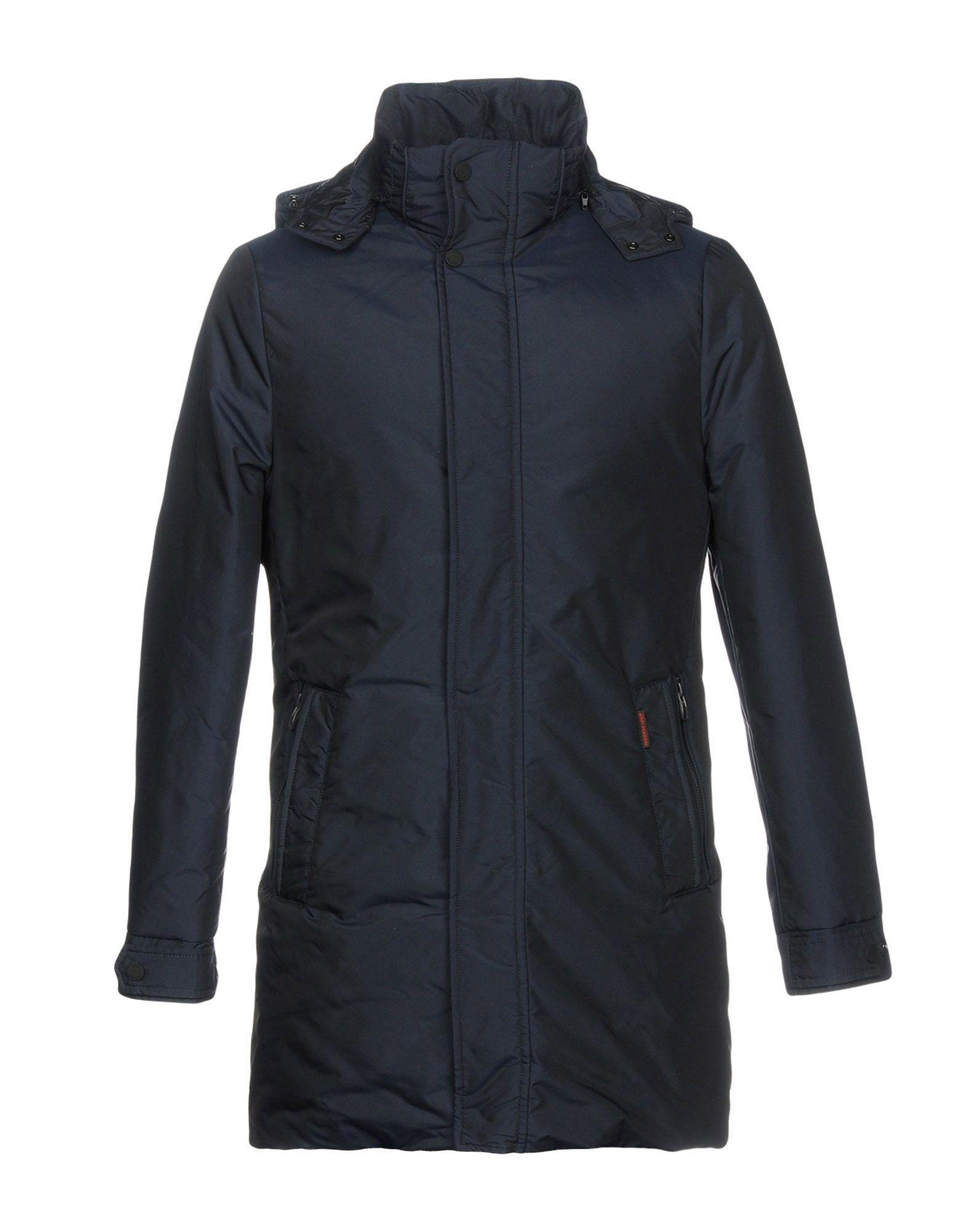 best service ede74 74a38 Men's Blue Down Jacket