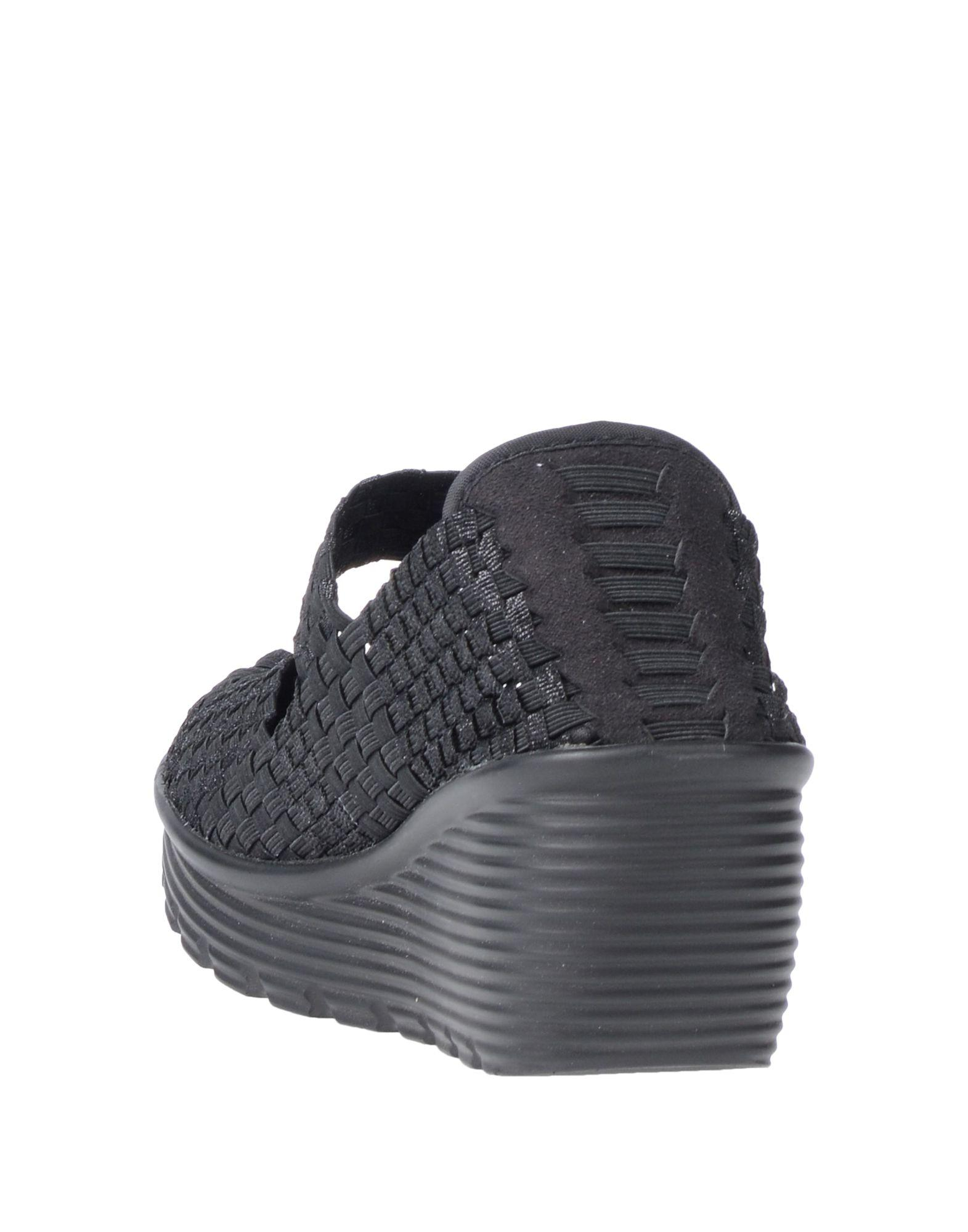 Zapatos de salón CafeNoir de Caucho de color Negro