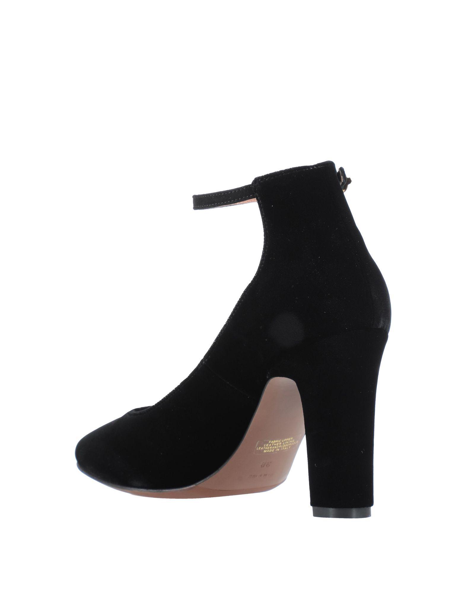 Zapatos de salón L'Autre Chose de Terciopelo de color Negro