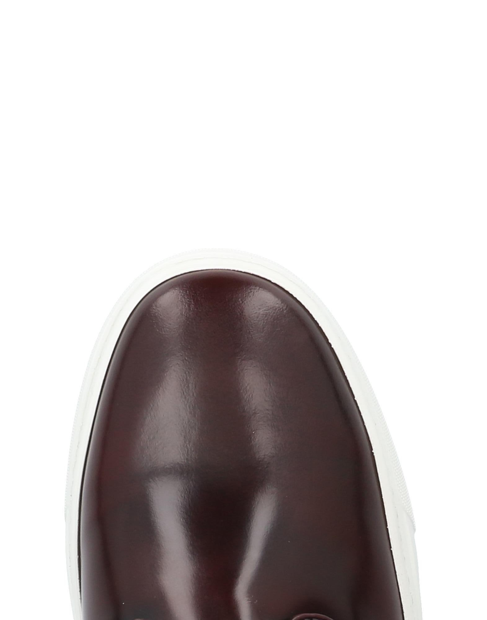 Gianfranco Lattanzi Leather Low-tops & Sneakers in Cocoa (Brown)