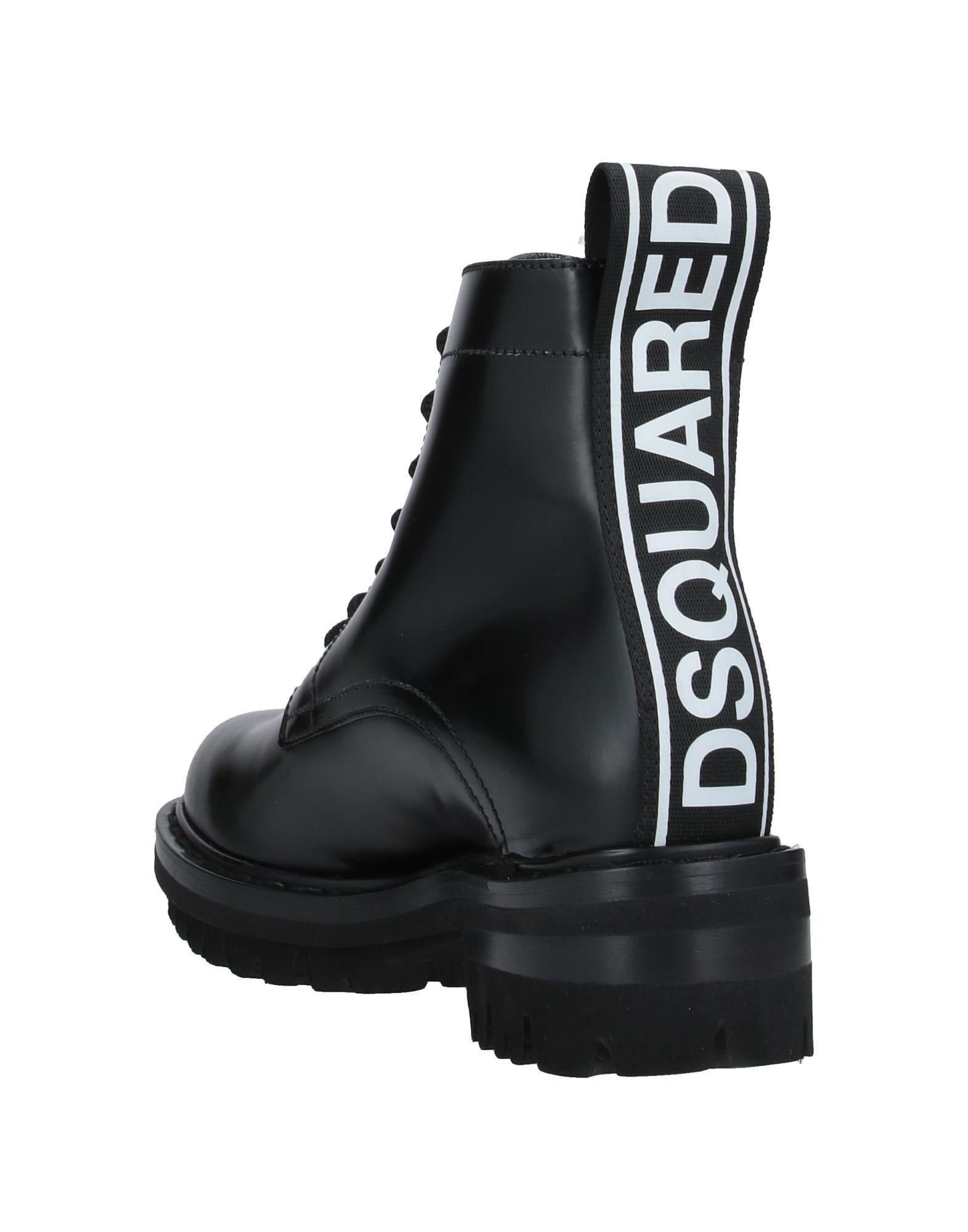 Botines de caña alta DSquared² de Cuero de color Negro