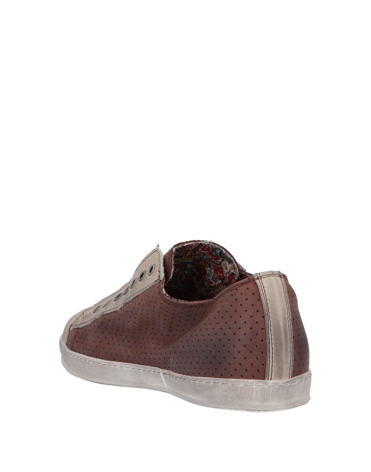 Lyst Low Sneakers Lecrown Tops amp; Brown In 86wa8pq