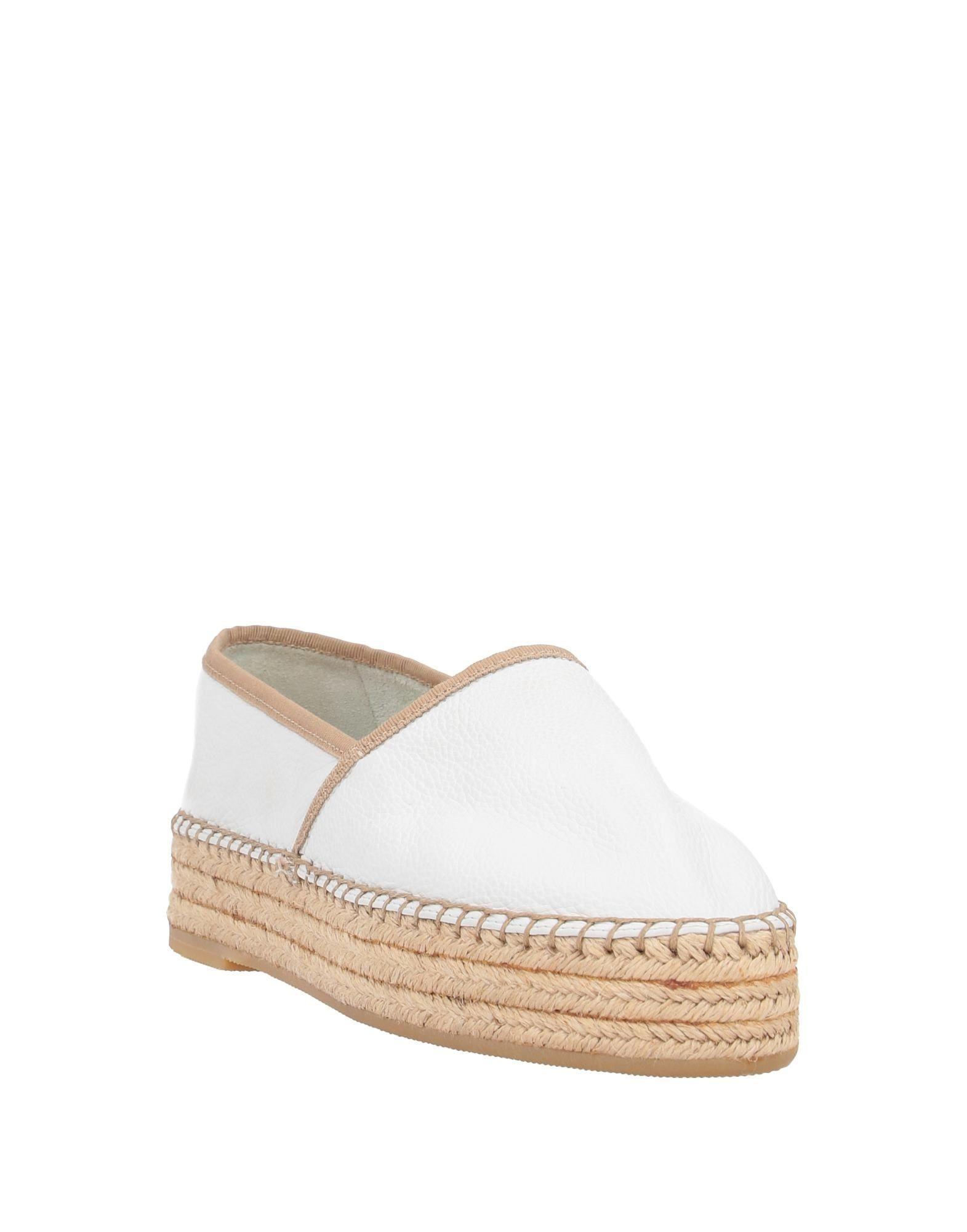 Espadrillas Santoni de color Blanco