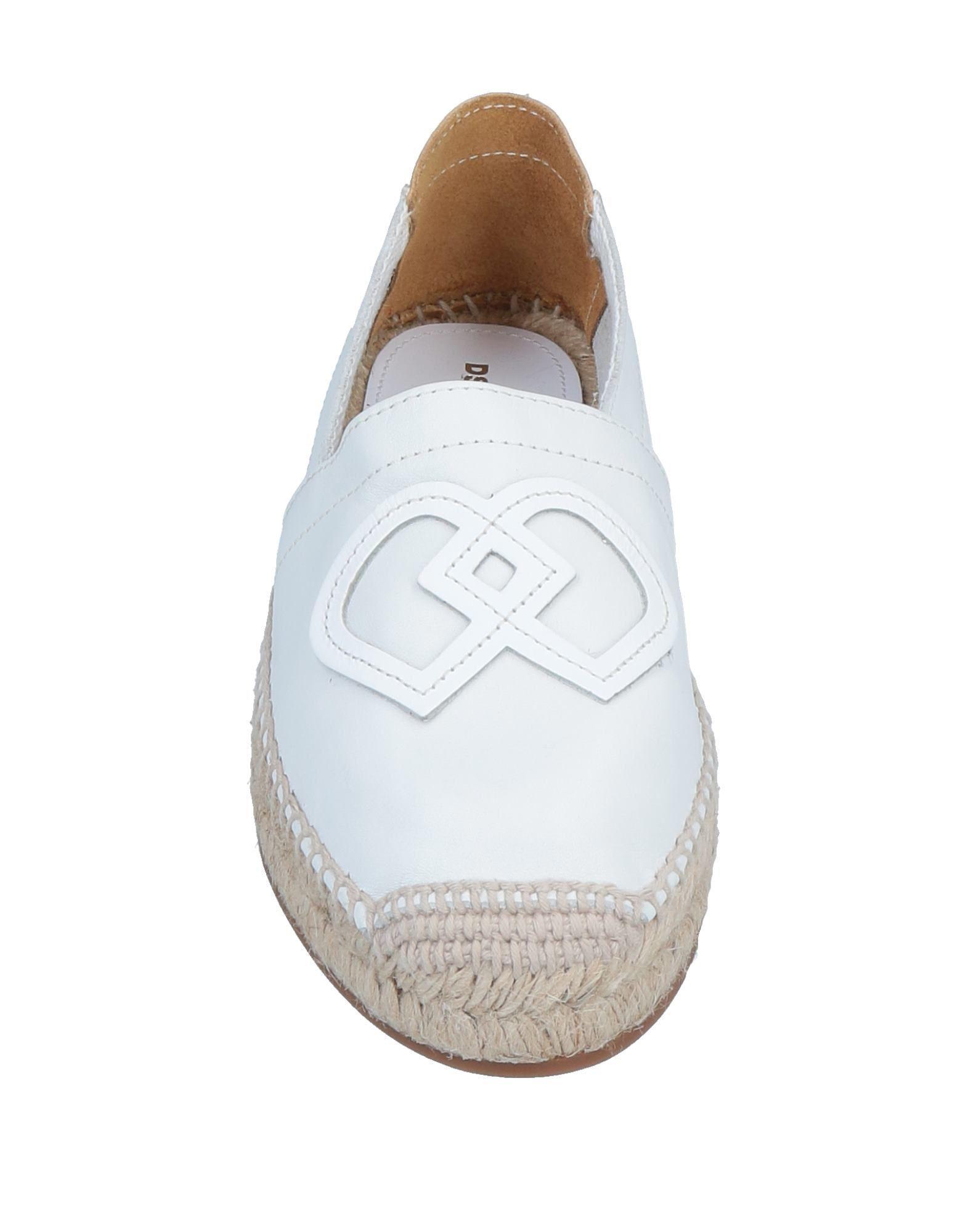 Espadrillas DSquared² de Cuero de color Blanco