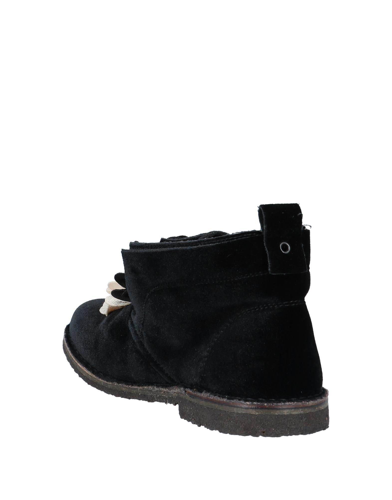 Botines de caña alta Pokemaoke de Terciopelo de color Negro