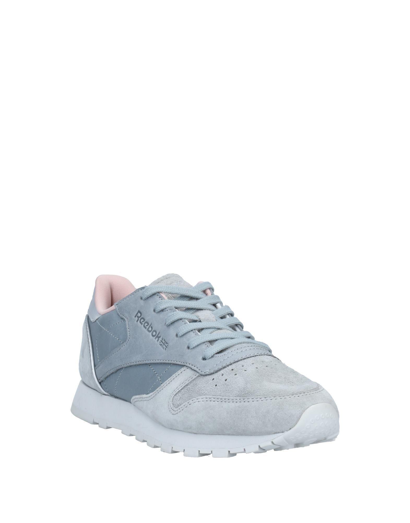 Sneakers & Deportivas Reebok de Cuero de color Gris