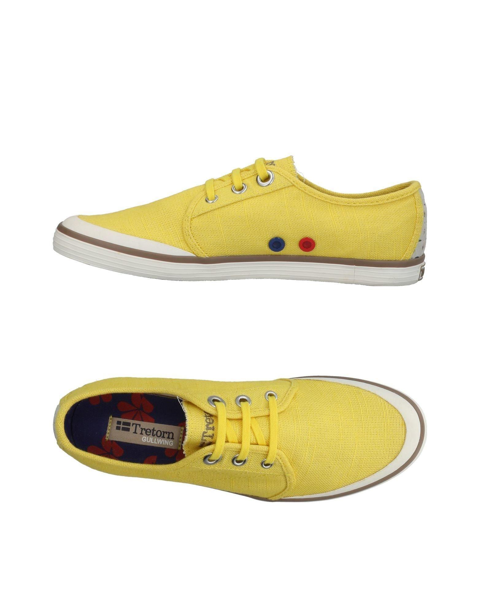 e0d43363afd Lyst - Tretorn Low-tops & Sneakers in Yellow
