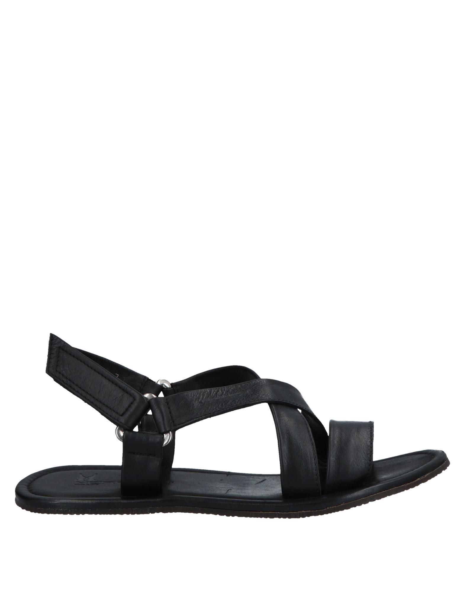 06b2a6dd726fa Lyst - Moreschi Sandals in Black for Men