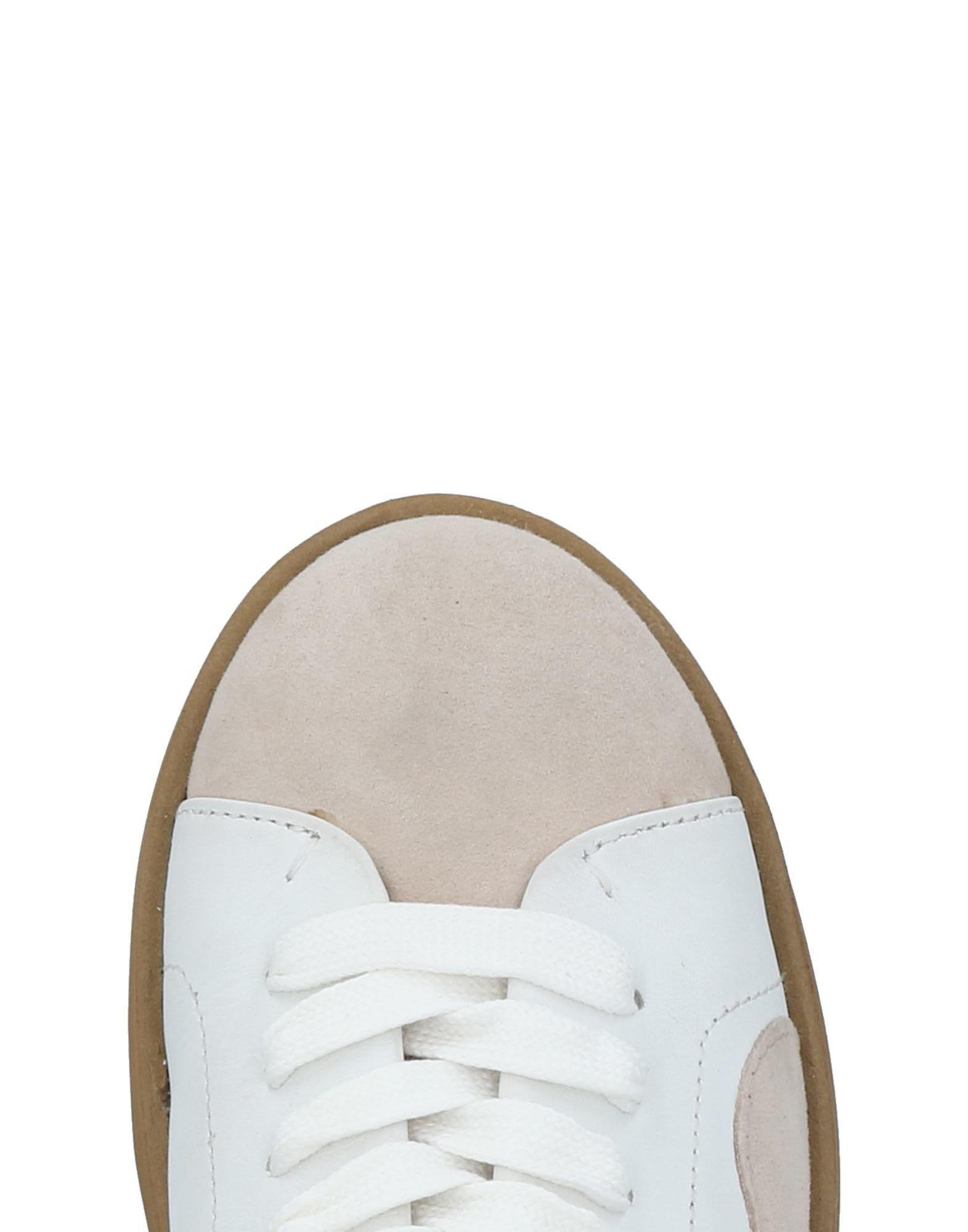Twin Set Suede Low-tops & Sneakers in White