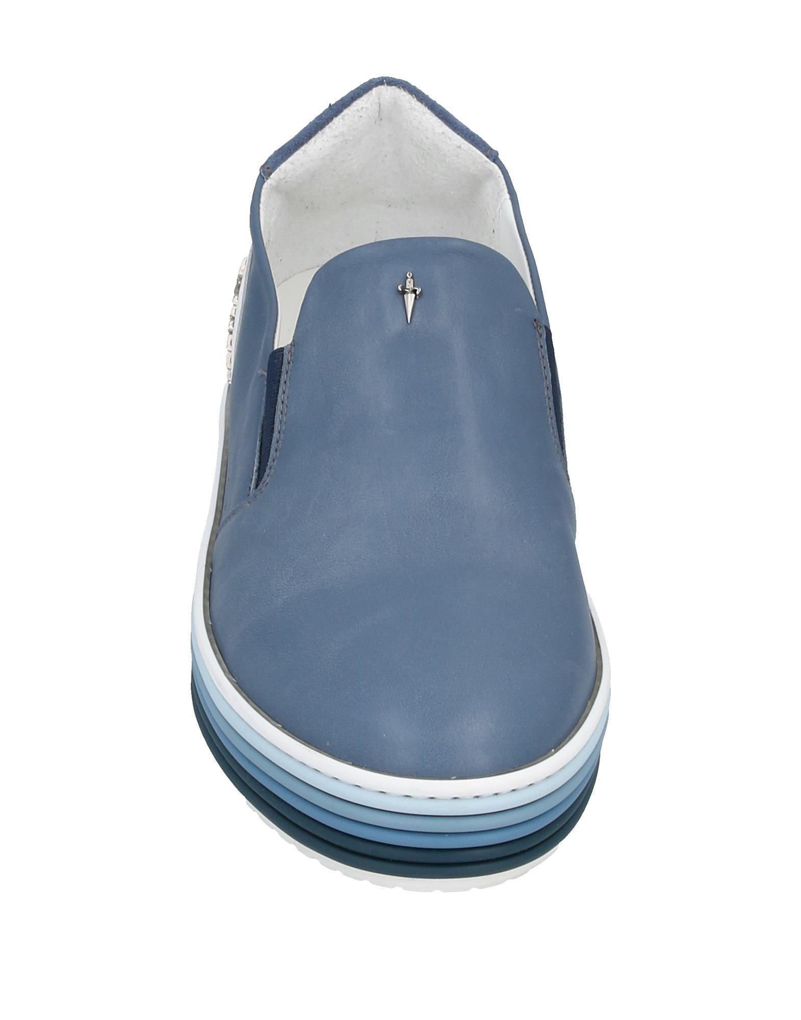 Sneakers & Deportivas Cesare Paciotti de Cuero de color Azul para hombre