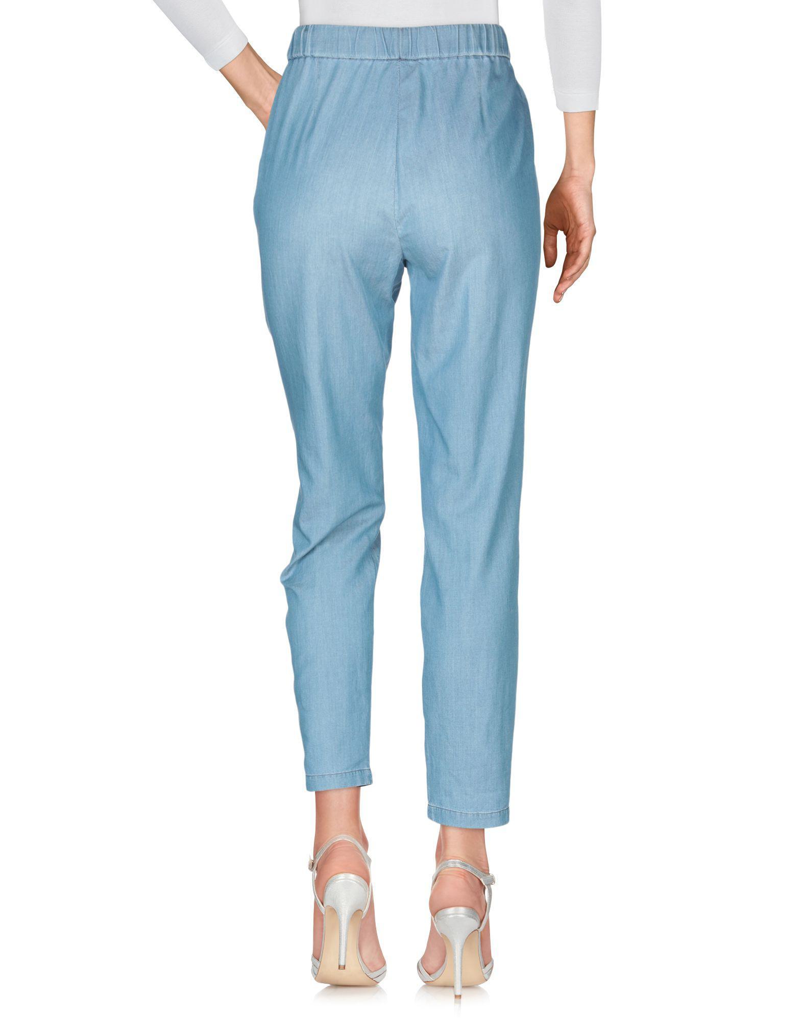 Pantalones vaqueros Fabiana Filippi de Denim de color Azul