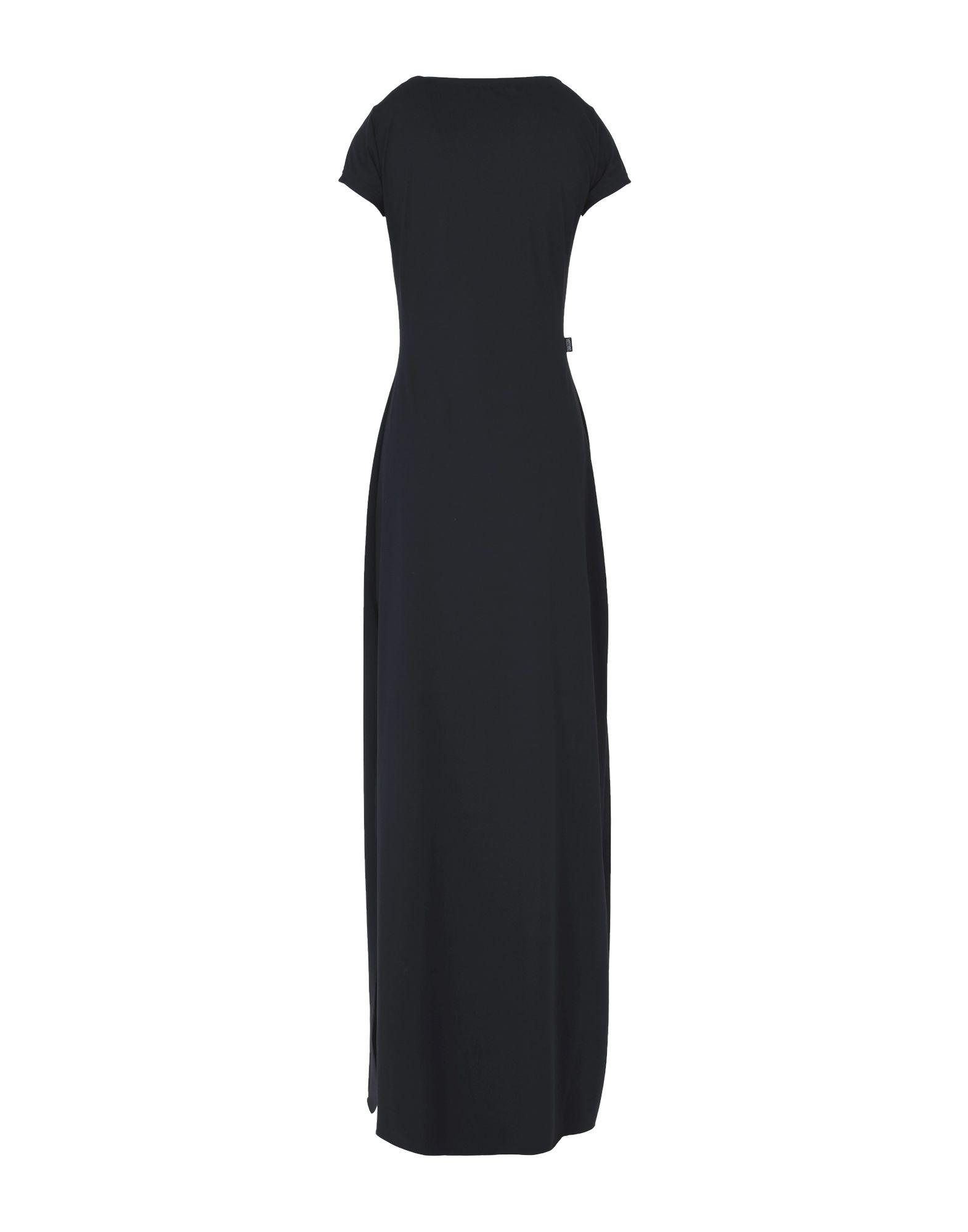 Moschino Jeans Synthetic Long Dress in Black