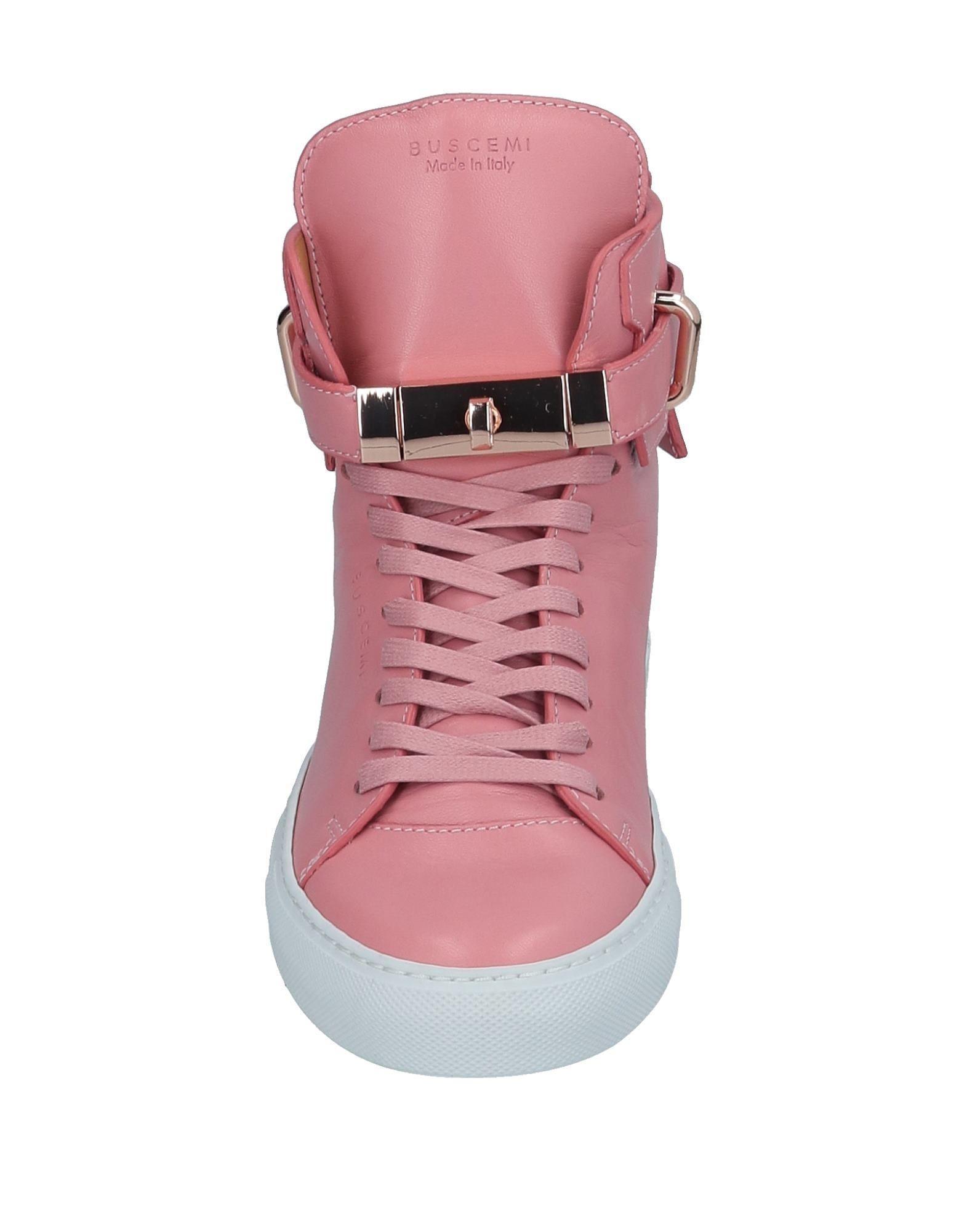 Sneakers abotinadas Buscemi de Cuero de color Rosa