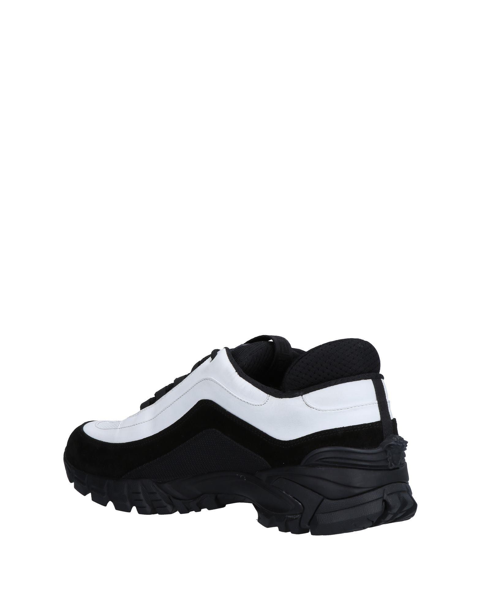 Sneakers & Deportivas Versace de Ante de color Blanco para hombre
