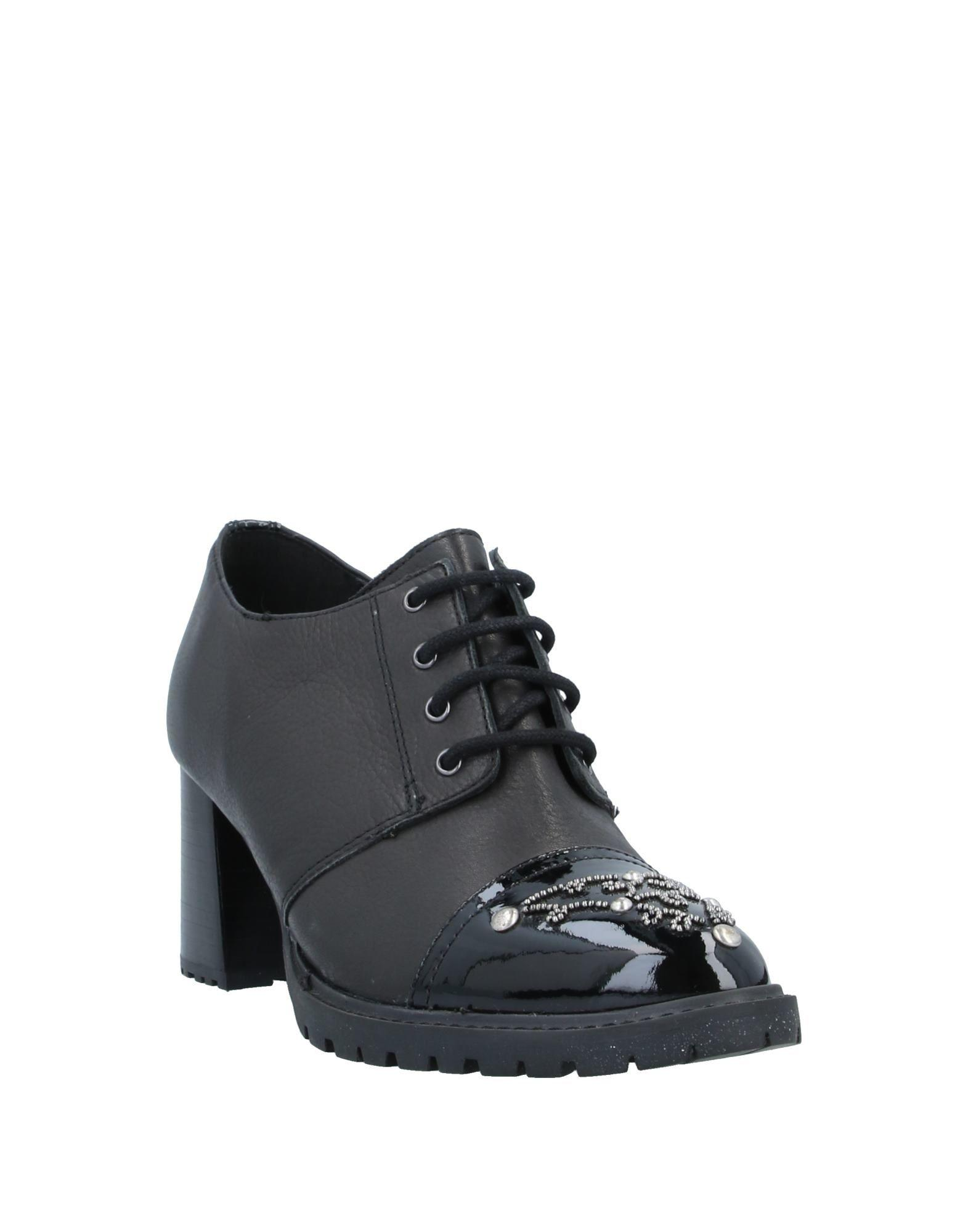 Zapatos de cordones Apepazza de color Negro