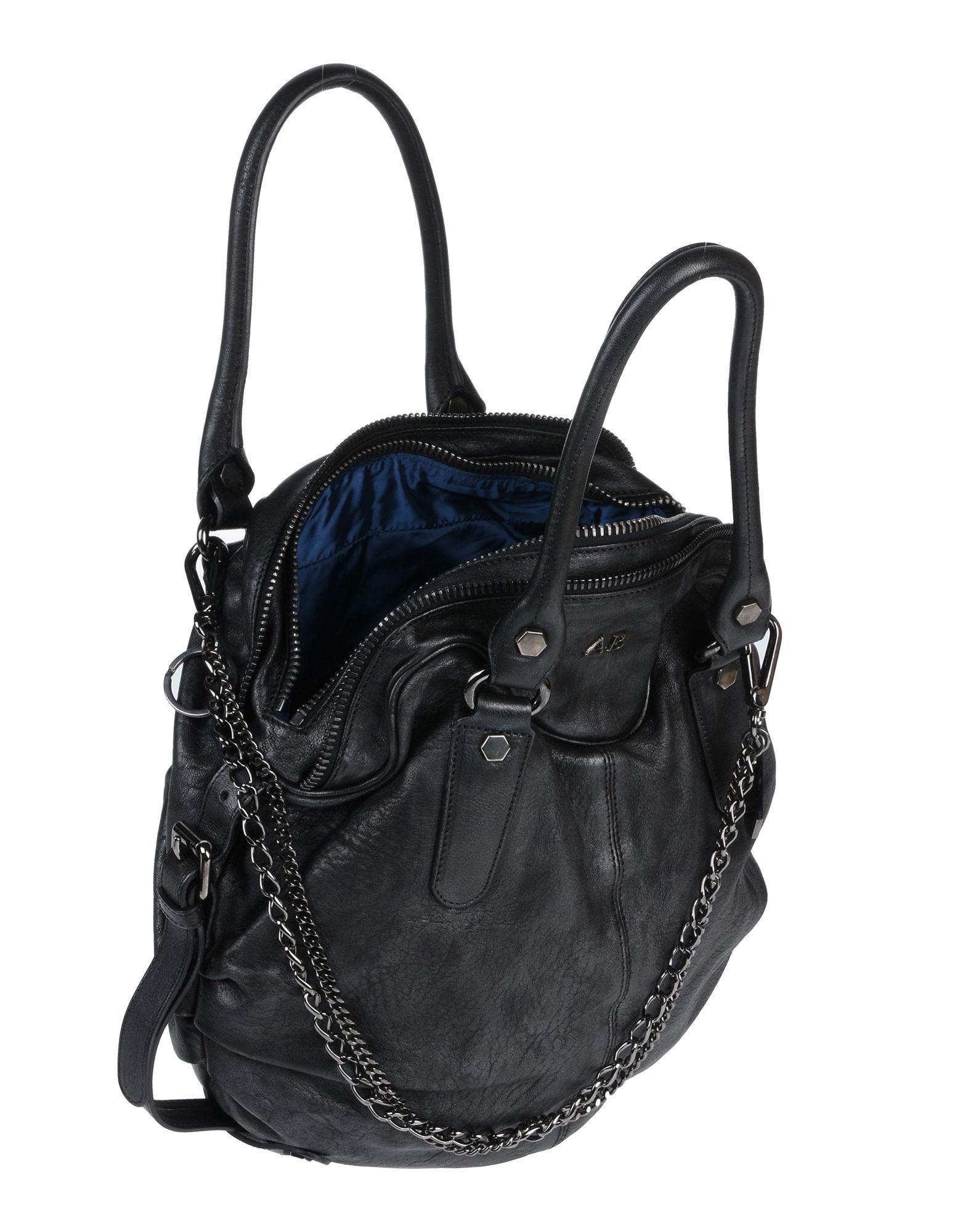 A Brand Apart Leder Handtaschen in Schwarz auhJ9