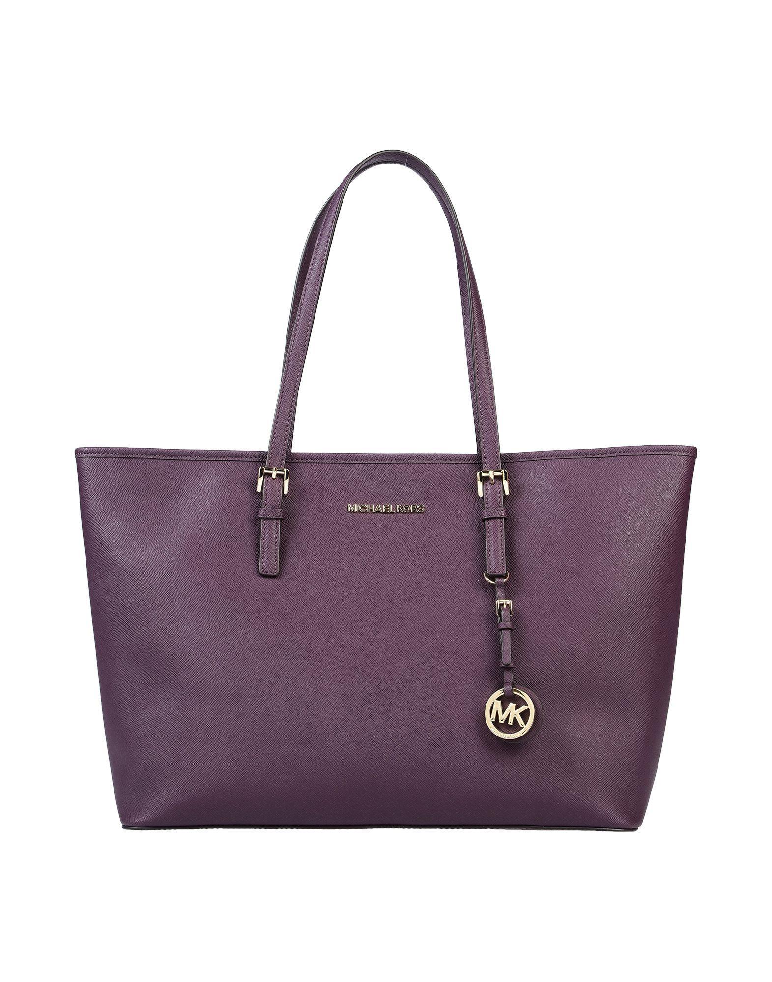 Michael Kors Leather Handbag In