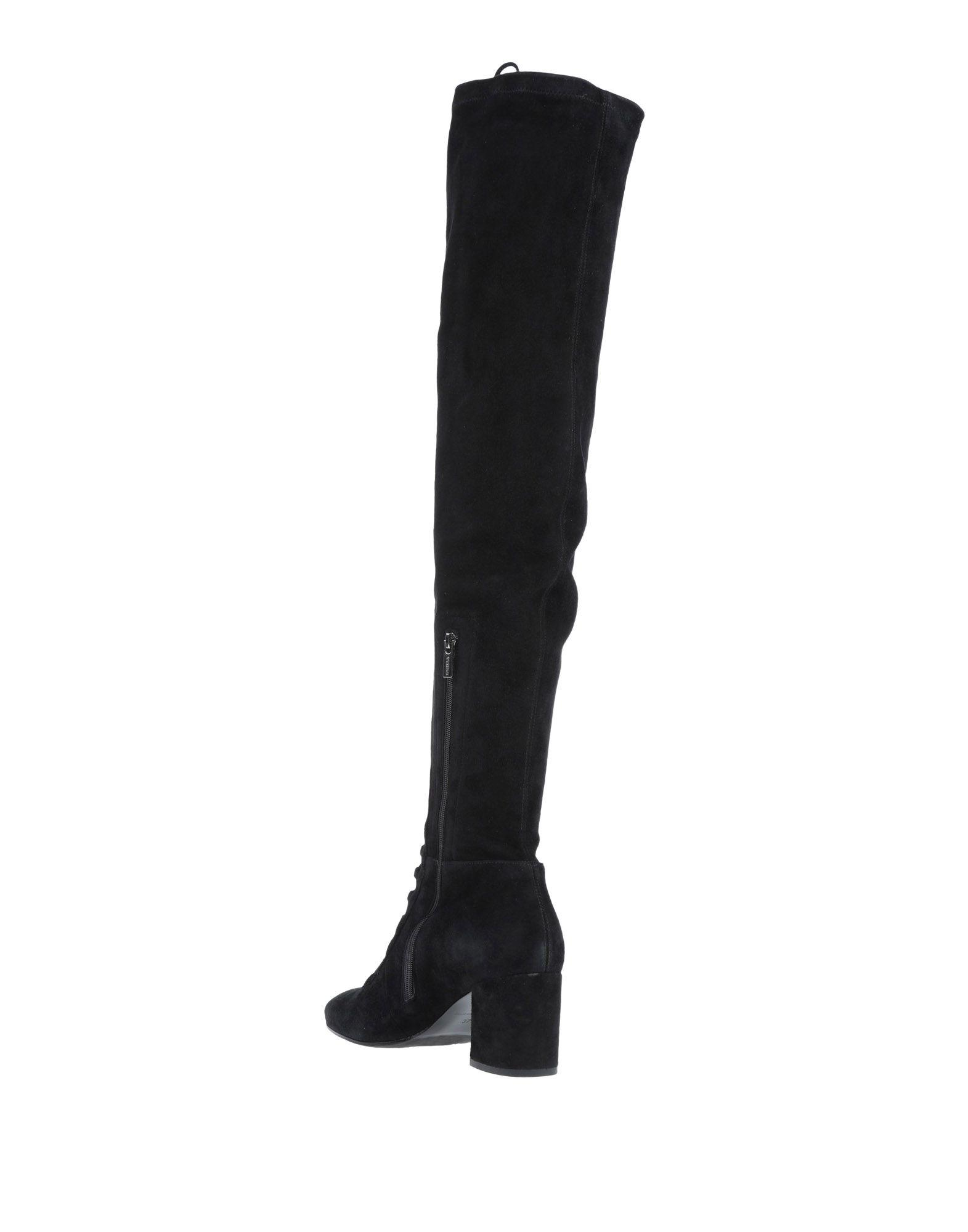 Botas Le Silla de Ante de color Negro