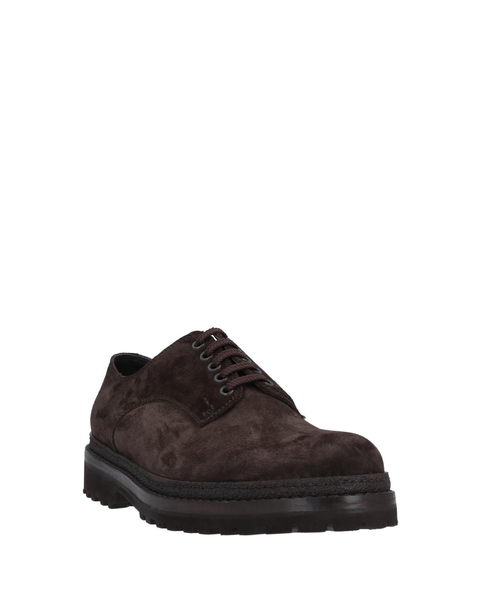 Zapatos de cordones Lo.white de hombre de color Marrón