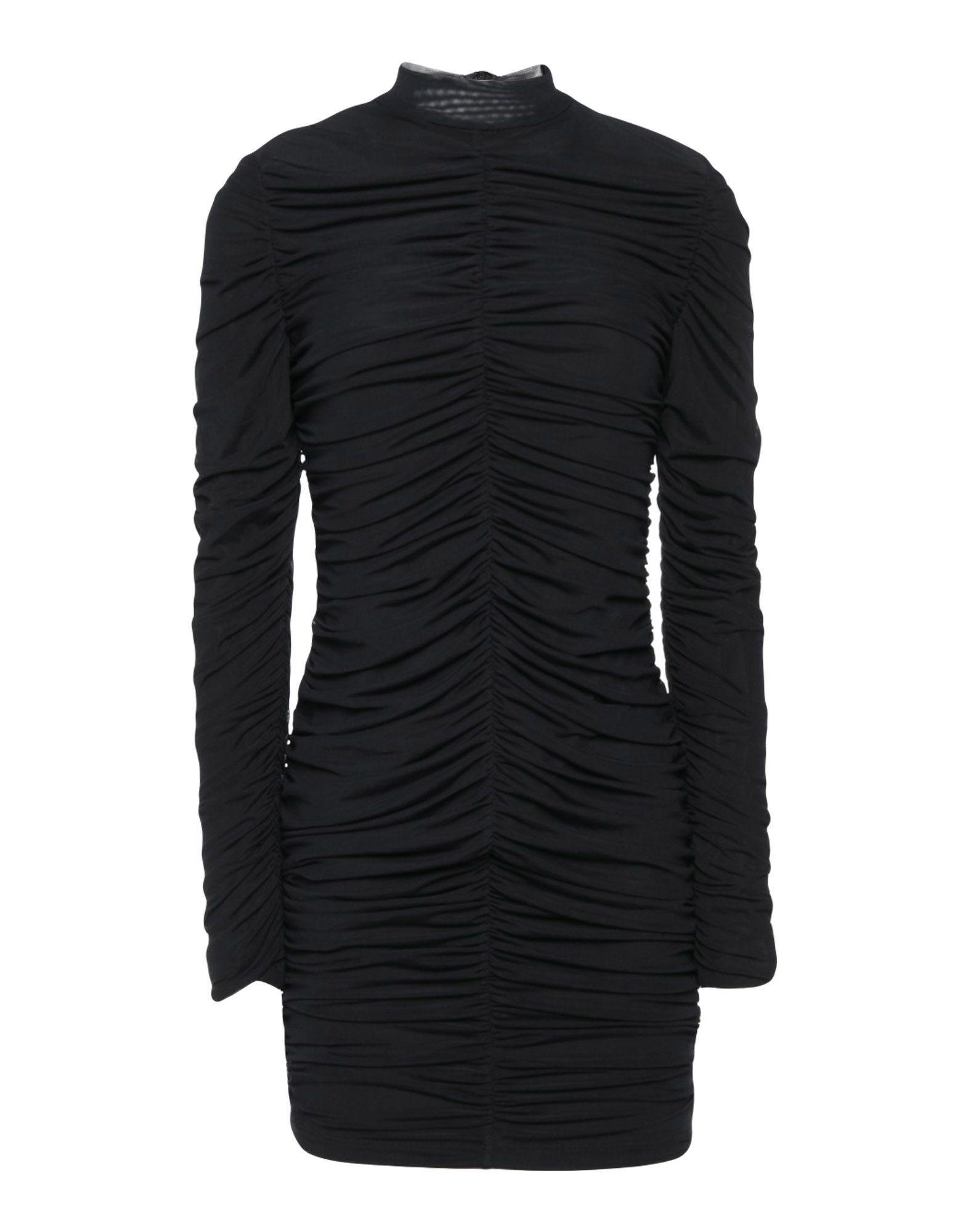 Guess Synthetic Short Dress in Black - Lyst