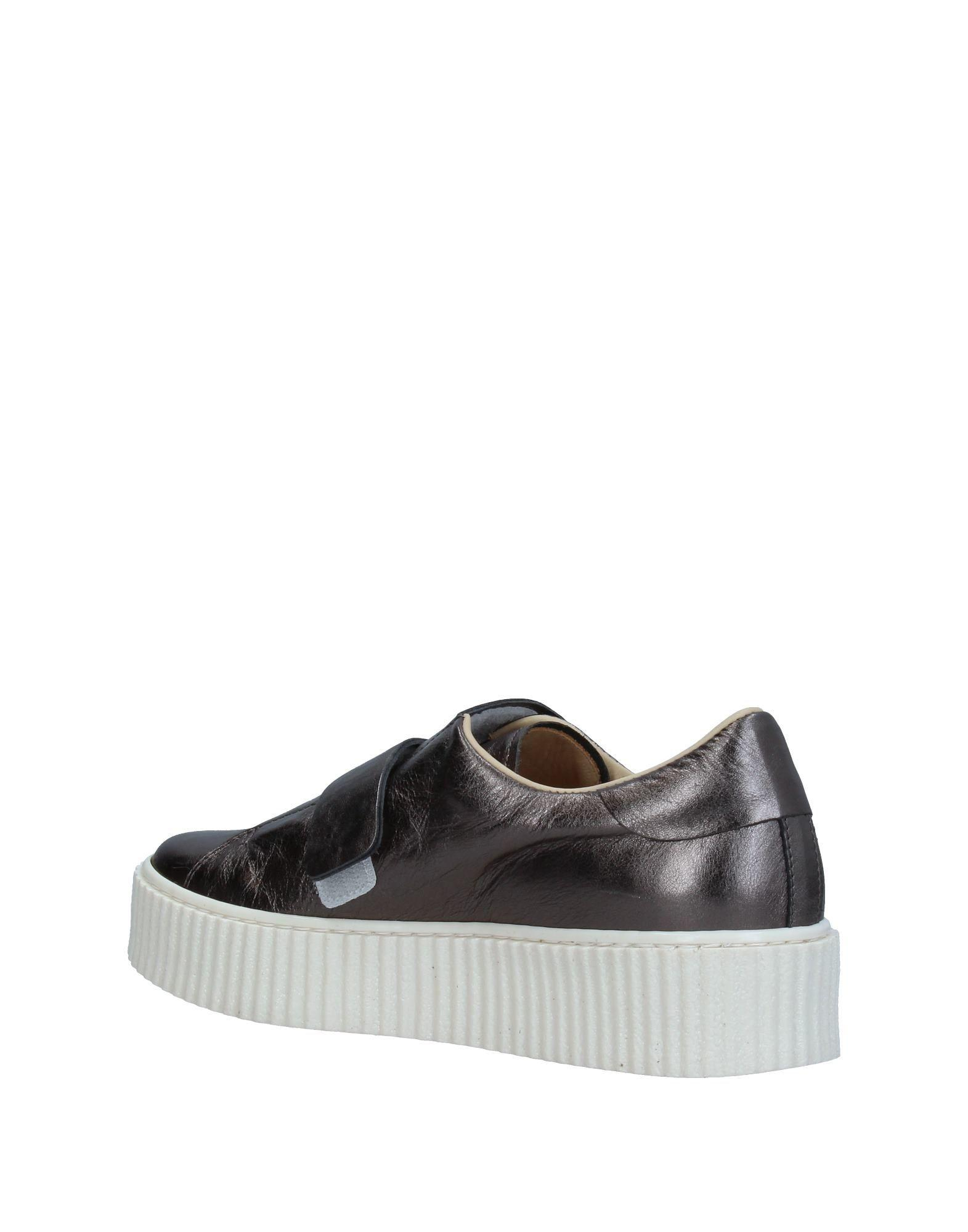 Chiarini Bologna Leather Low-tops & Sneakers in Steel Grey (Grey)