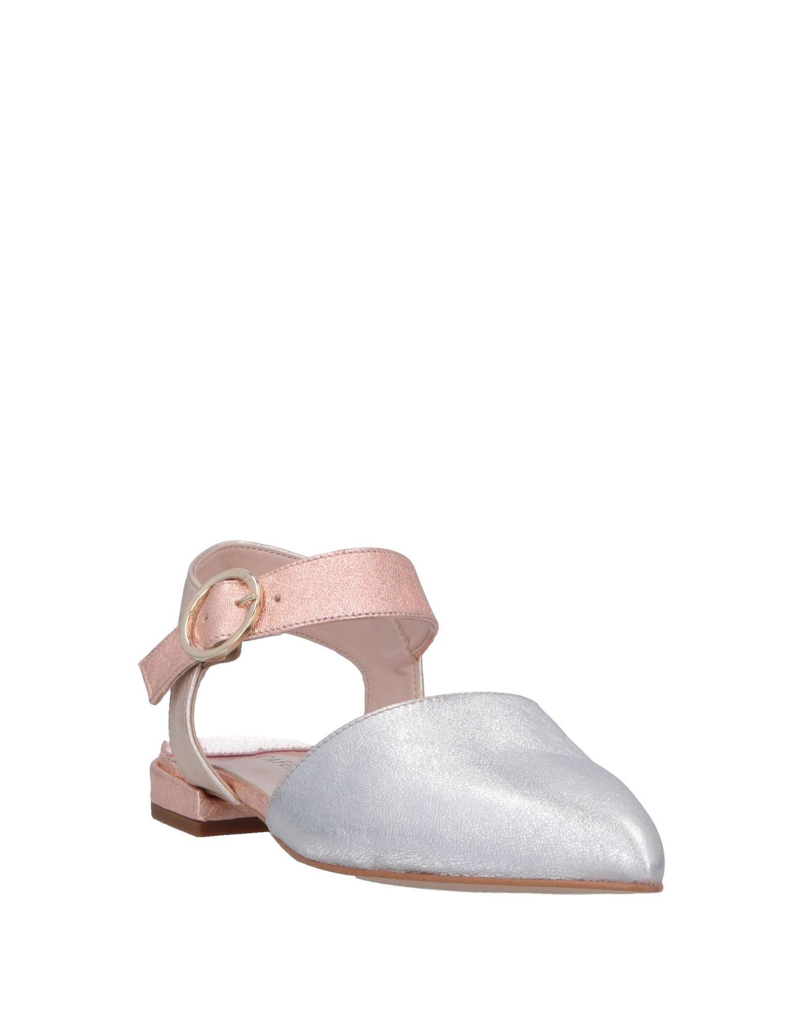 Bailarinas CafeNoir de Cuero de color Metálico