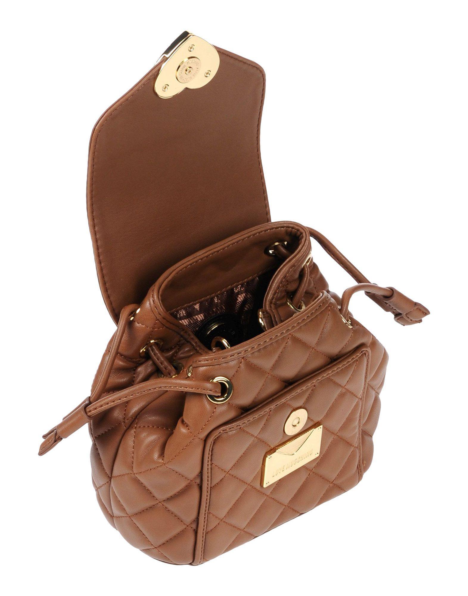 Love Moschino Handtaschen in Braun 74ZX5