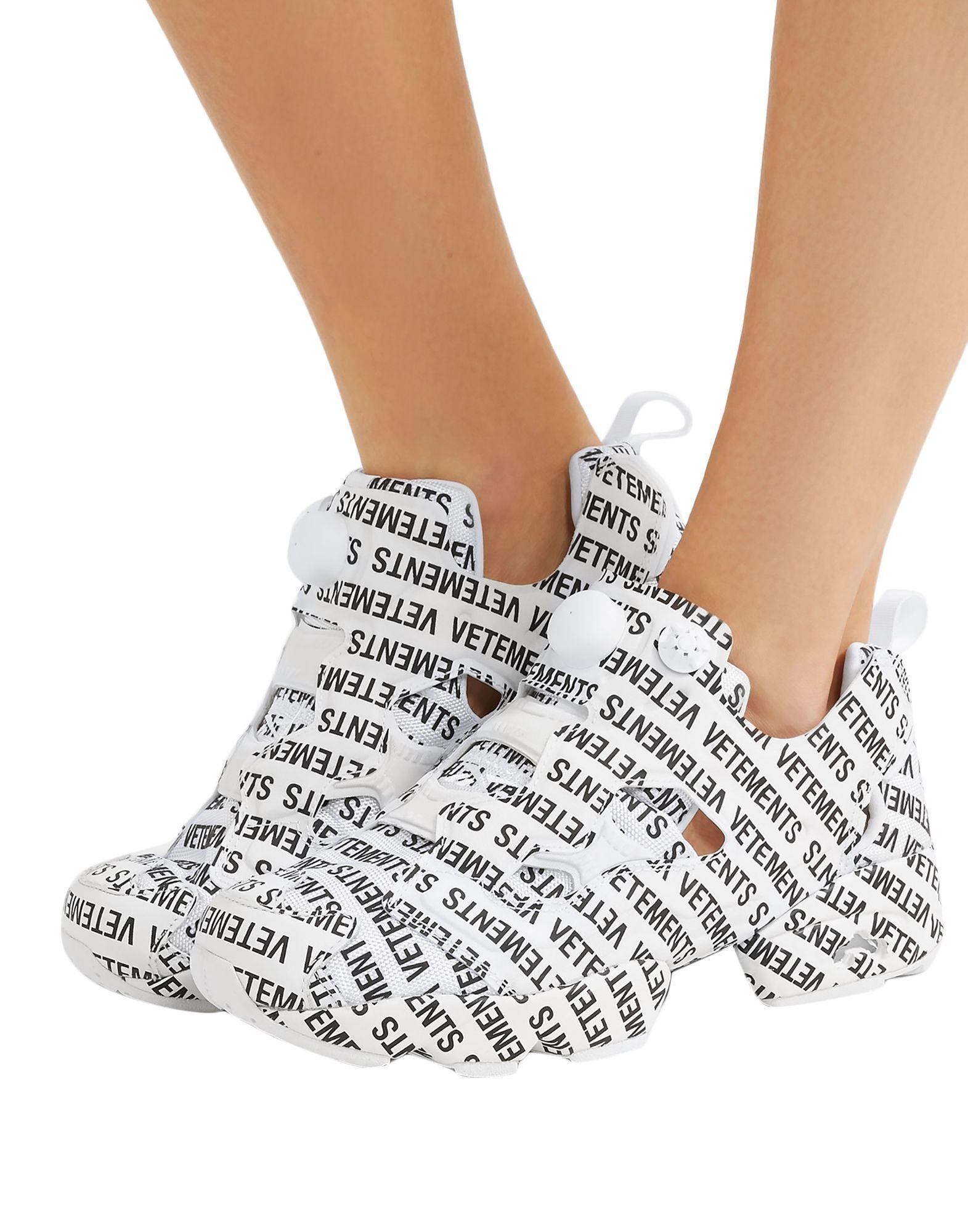 Sneakers & Deportivas Vetements de Caucho de color Blanco