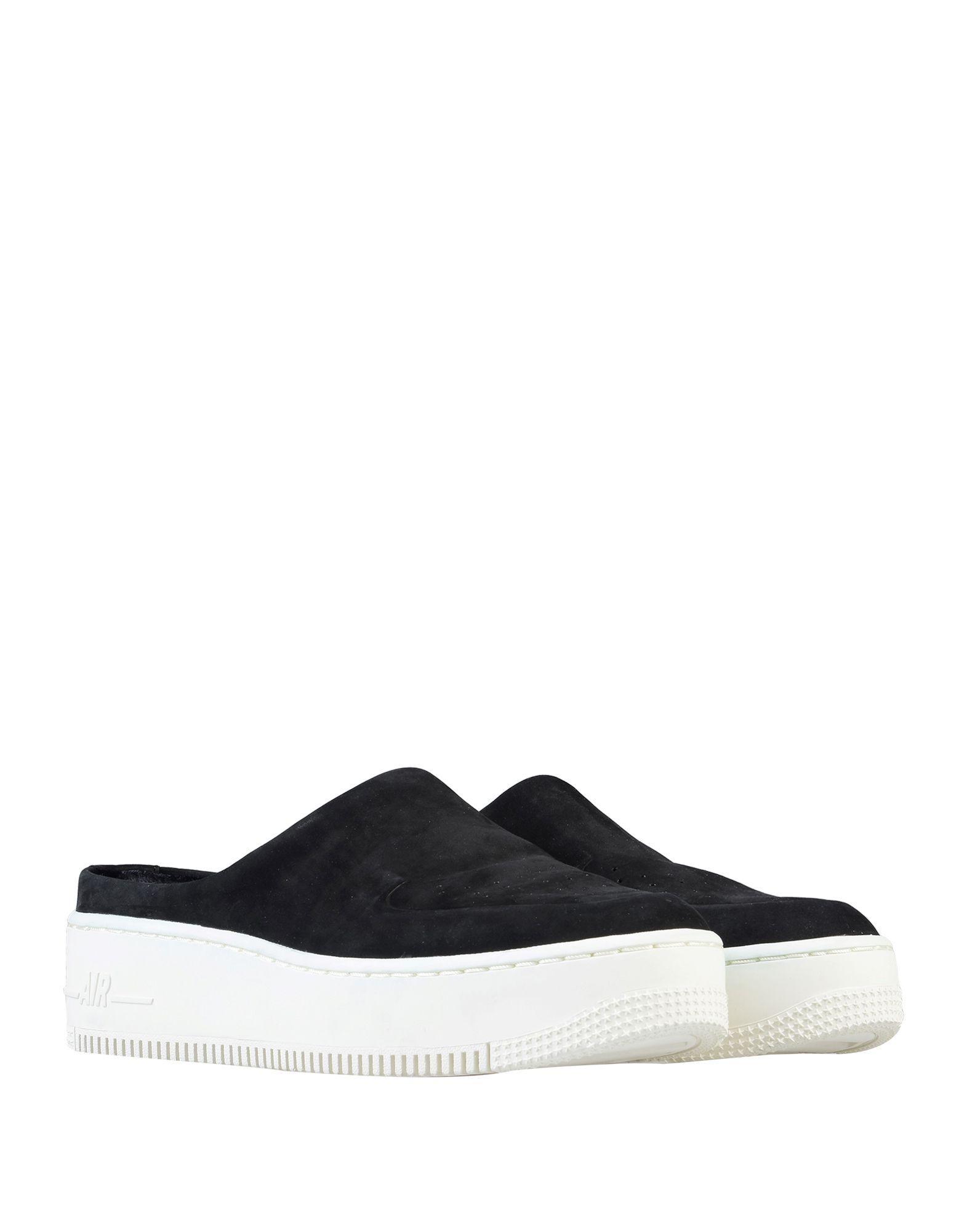 Mules AF1 Lover XX Premium Nike de Cuero de color Negro