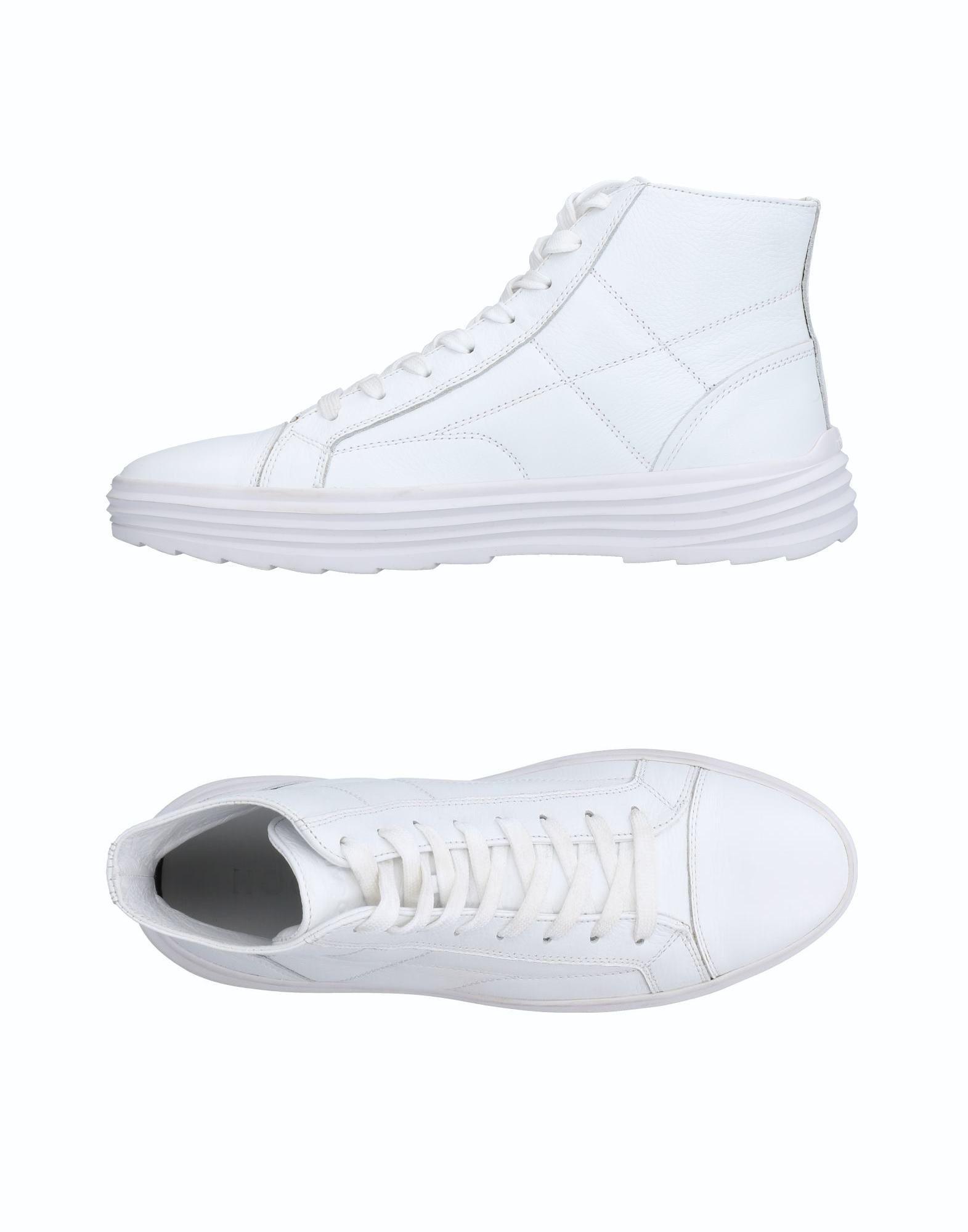 6bd9554b4c99 Lyst - Hogan High-tops   Sneakers in White