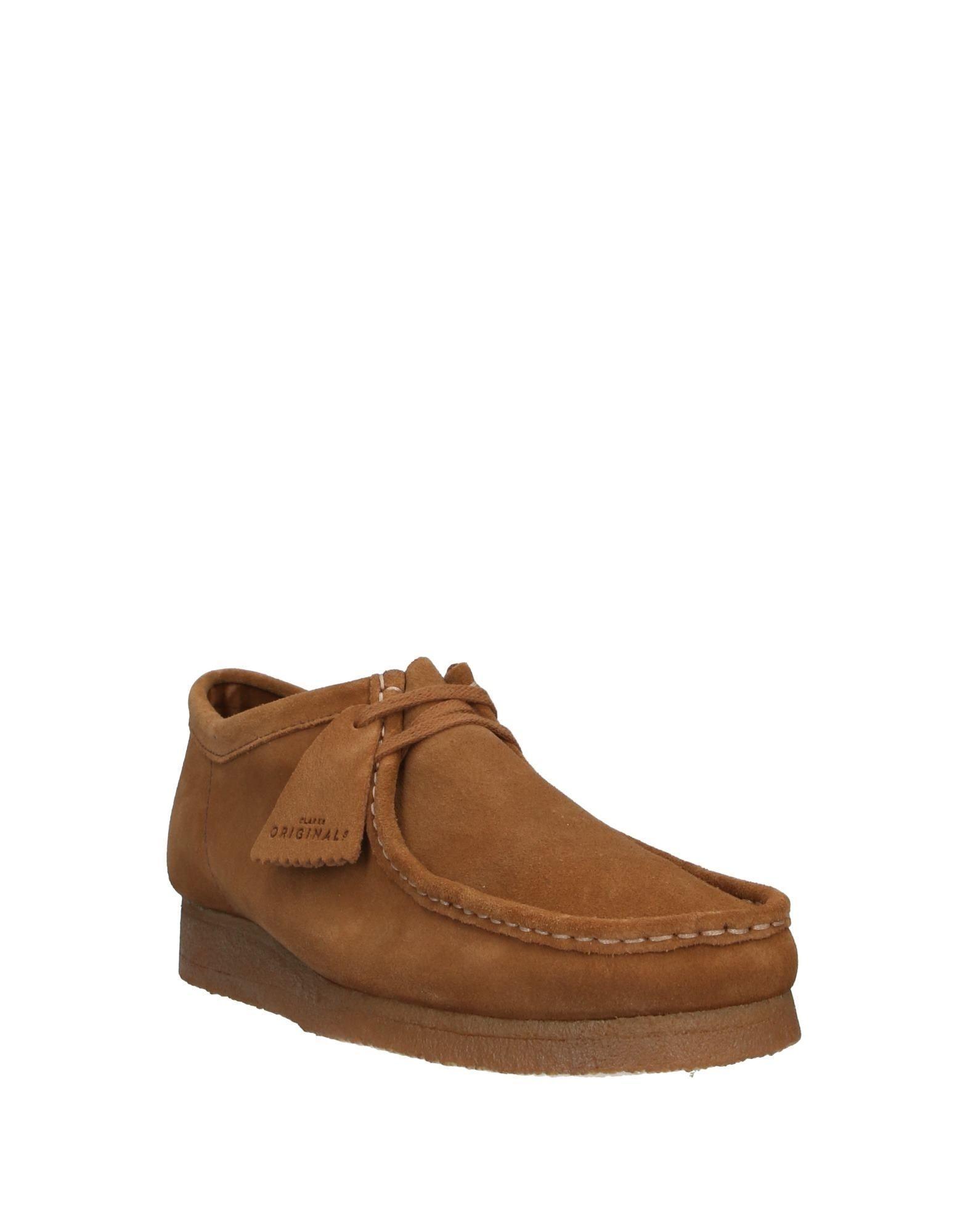 Zapatos de cordones Clarks de Ante de color Marrón para hombre