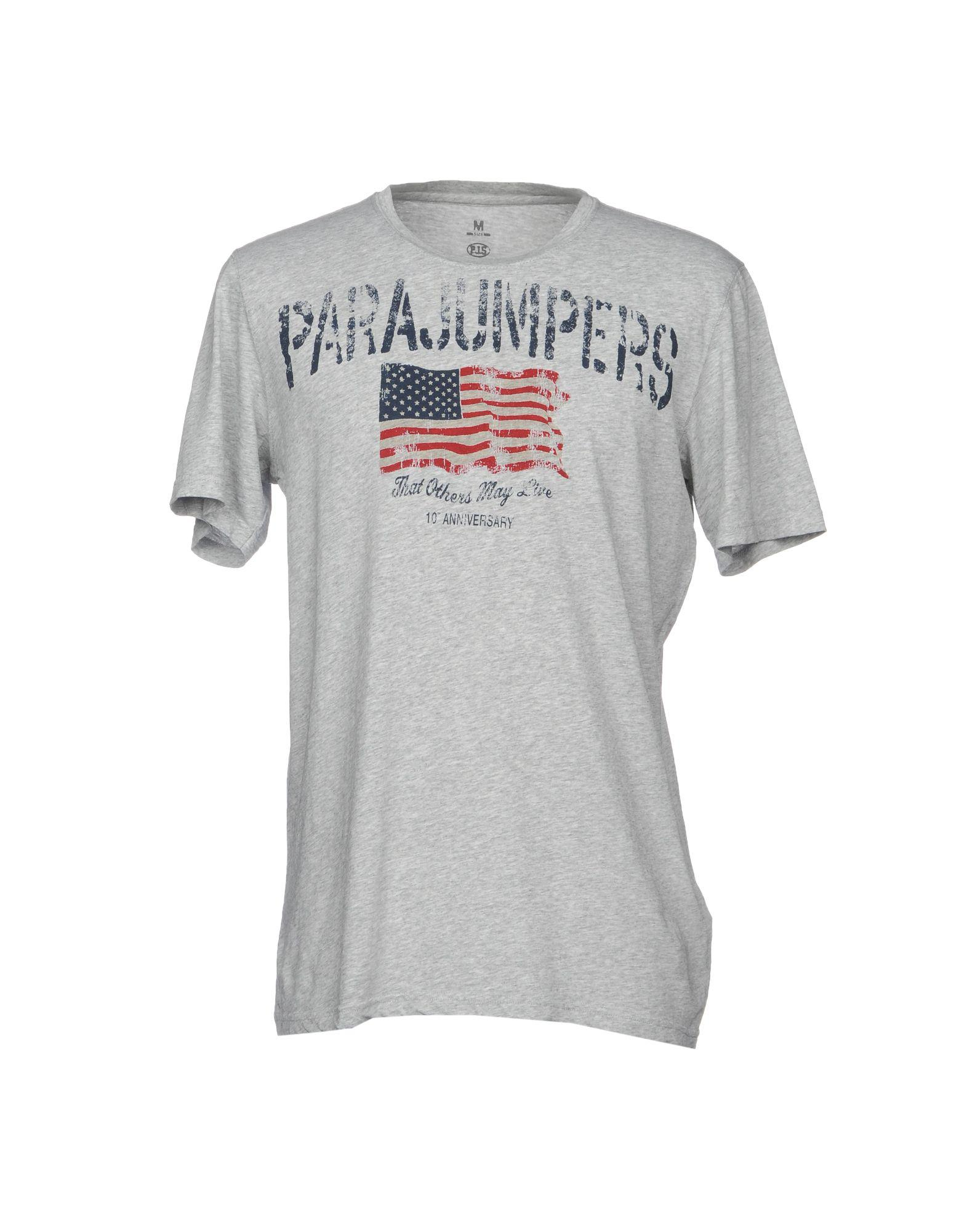 Parajumpers. Men's Gray T-shirts