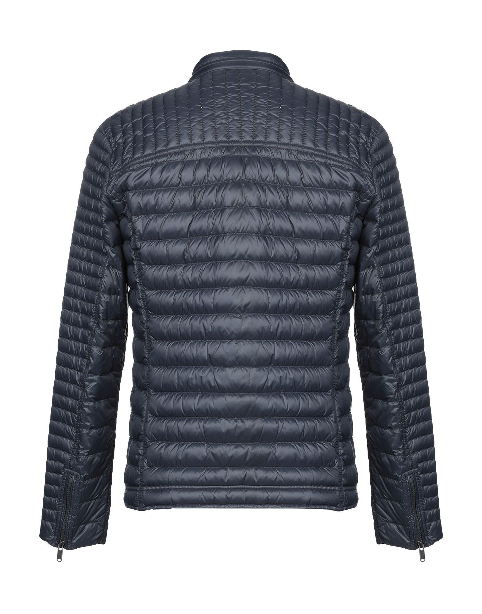 Lyst - Bomboogie Down Jacket in Blue for Men c9af6ee88d6