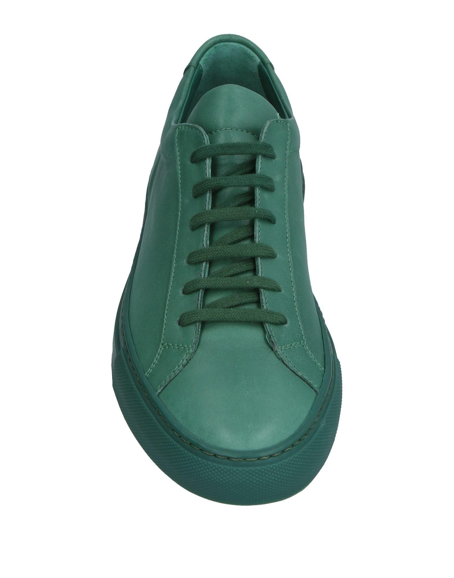 Common Projects Leather Low-tops & Sneakers in Green for Men