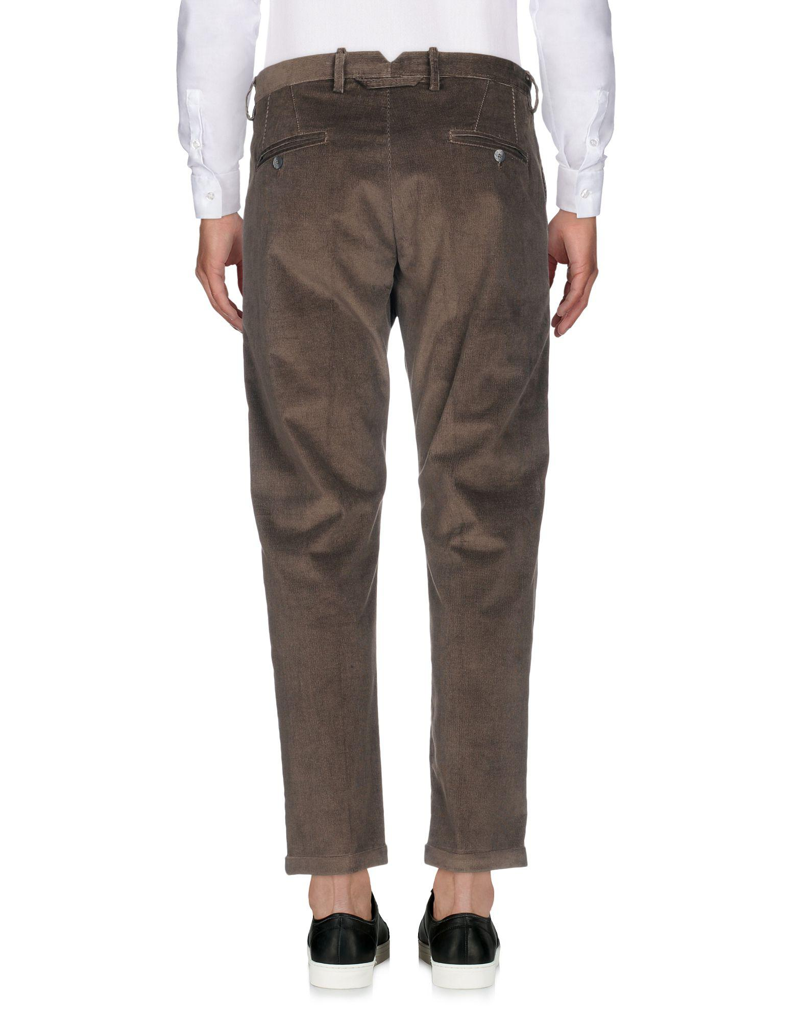 Officina 36 Velvet Casual Trouser in Lead (Grey) for Men