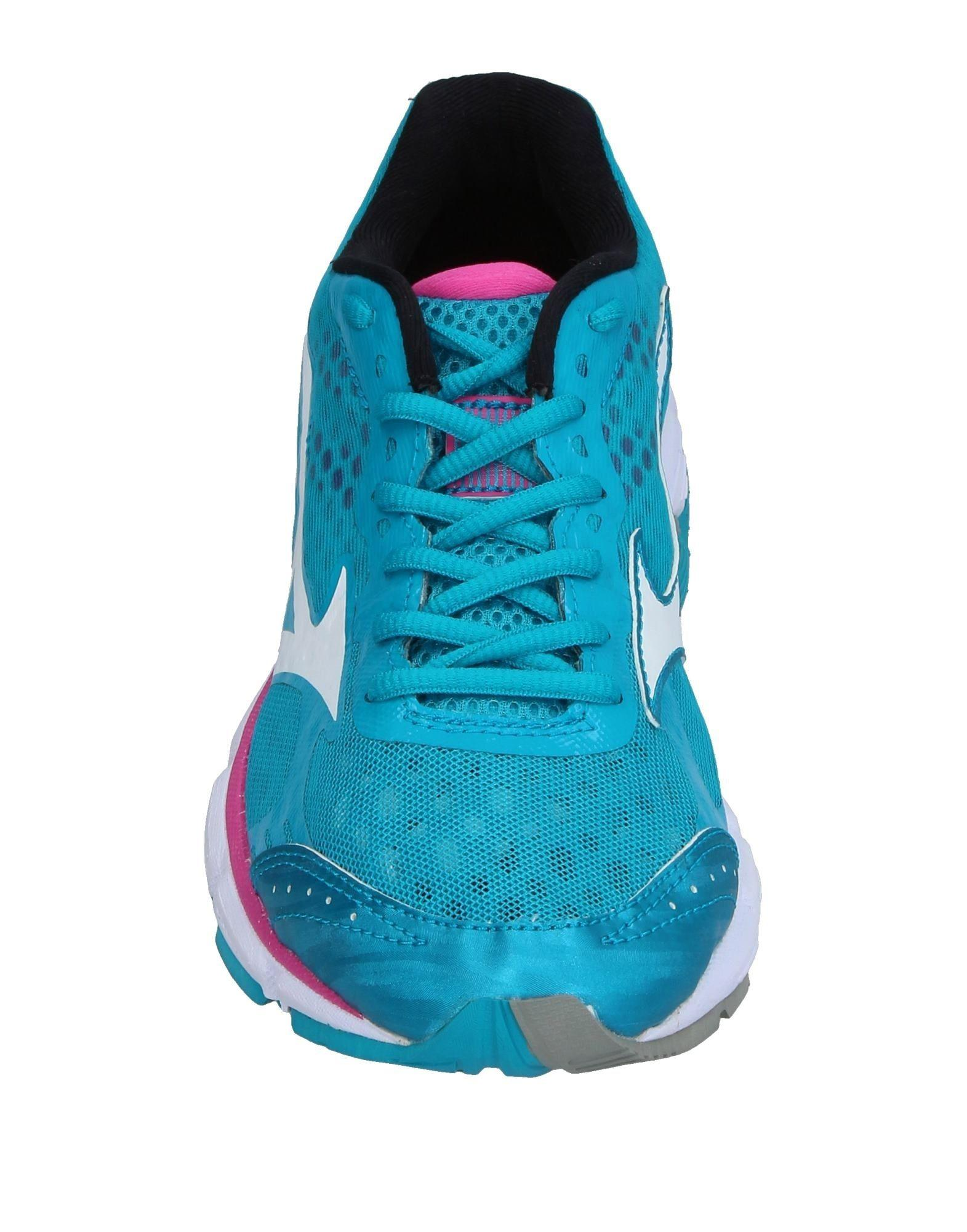 Mizuno Rubber Low-tops & Sneakers in Turquoise (Blue)