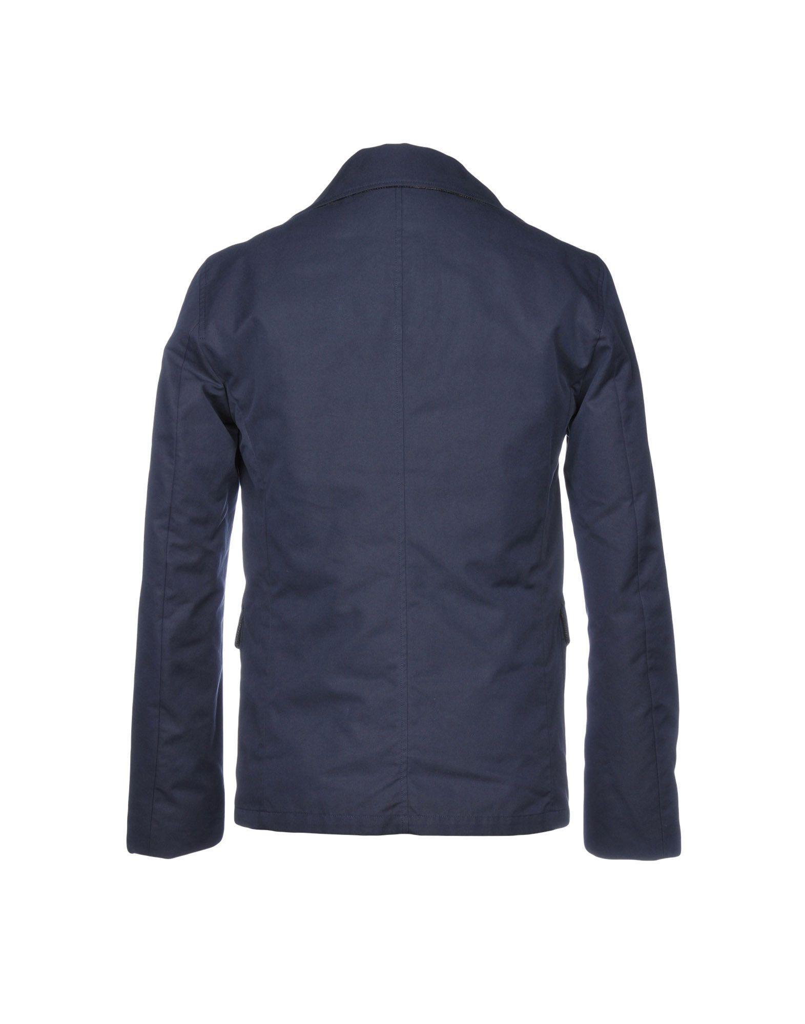 Geospirit Goose Down Jacket in Slate Blue (Blue) for Men