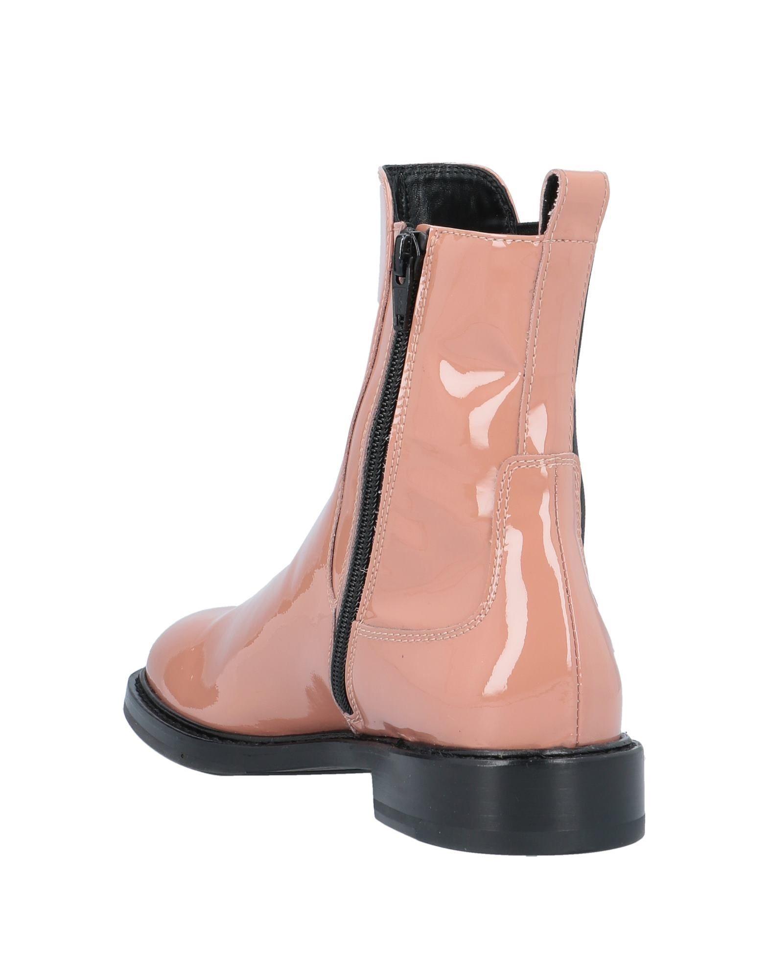 Botines de caña alta Agl Attilio Giusti Leombruni de Cuero de color Rosa