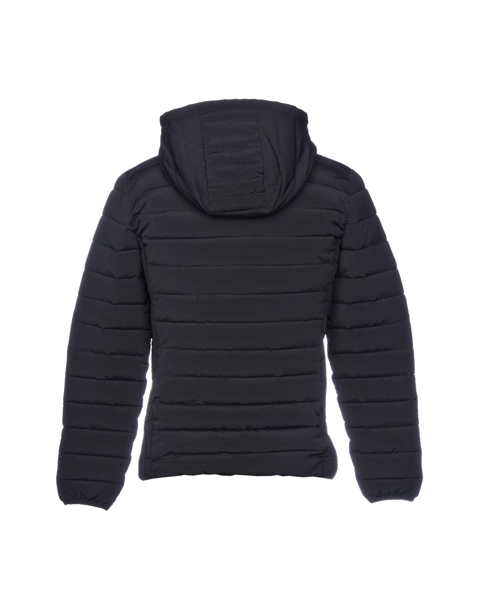 Paolo Pecora Synthetic Down Jacket in Black for Men