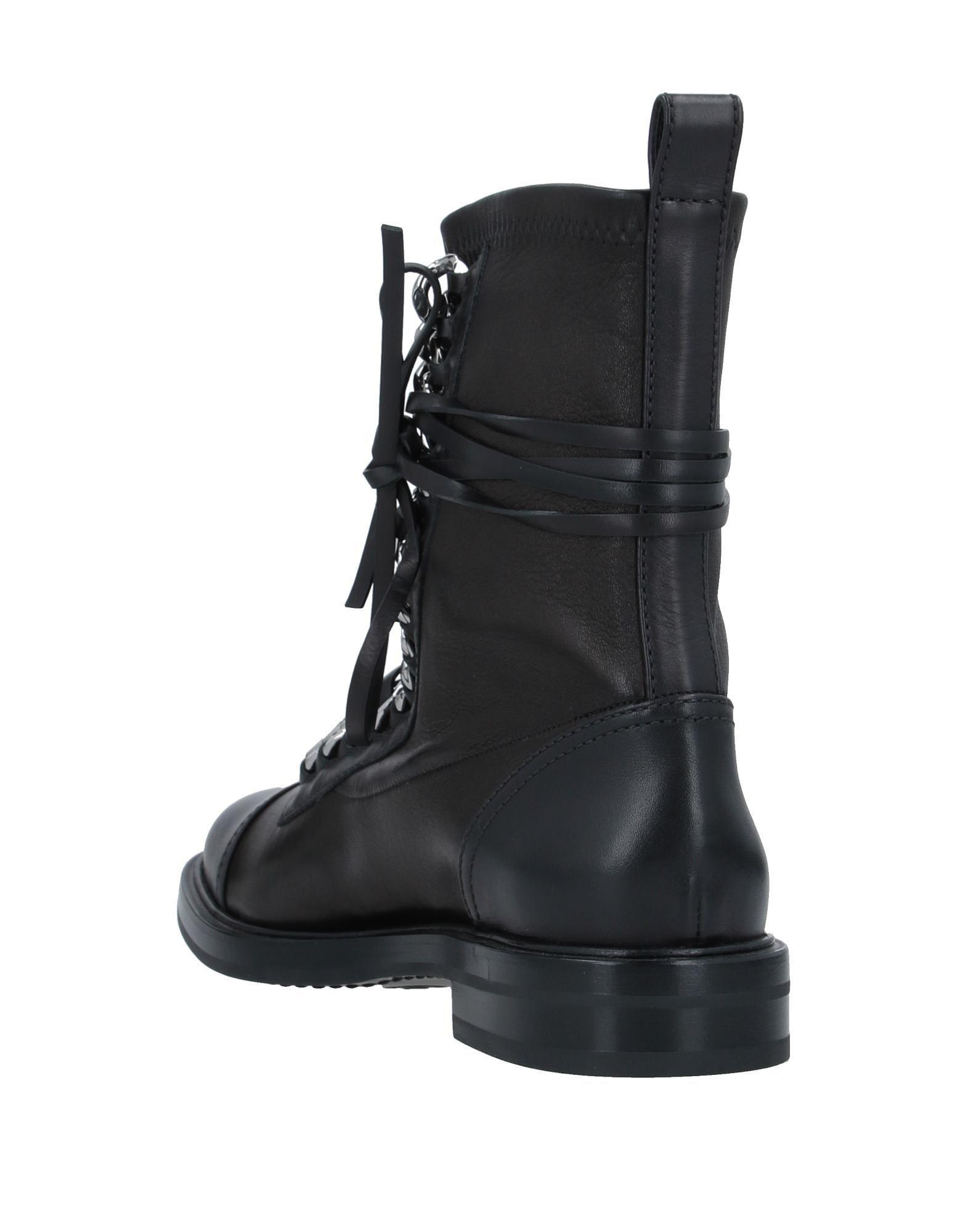 Botines de caña alta Casadei de color Negro