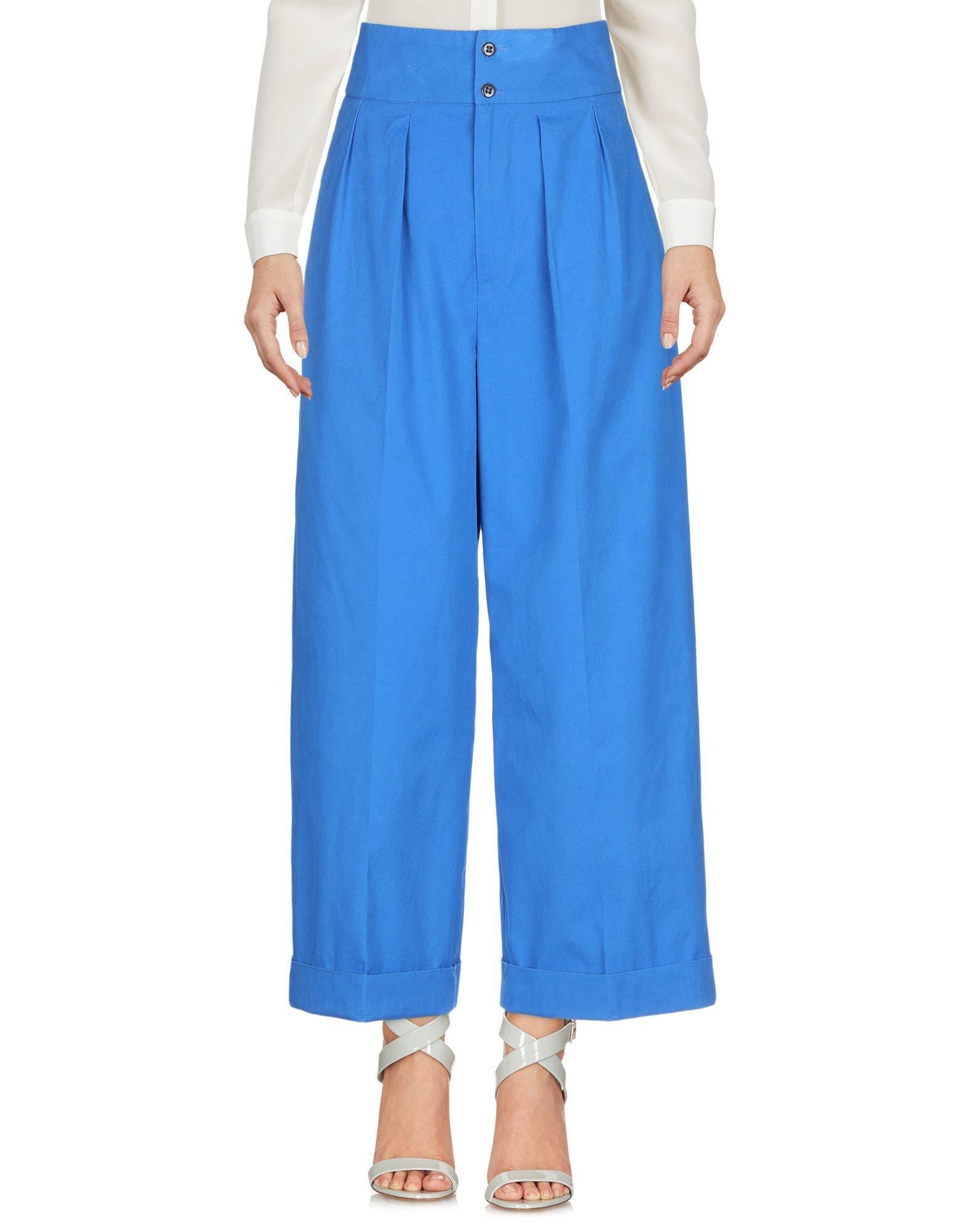 Pantalones Bellerose de Algodón de color Azul