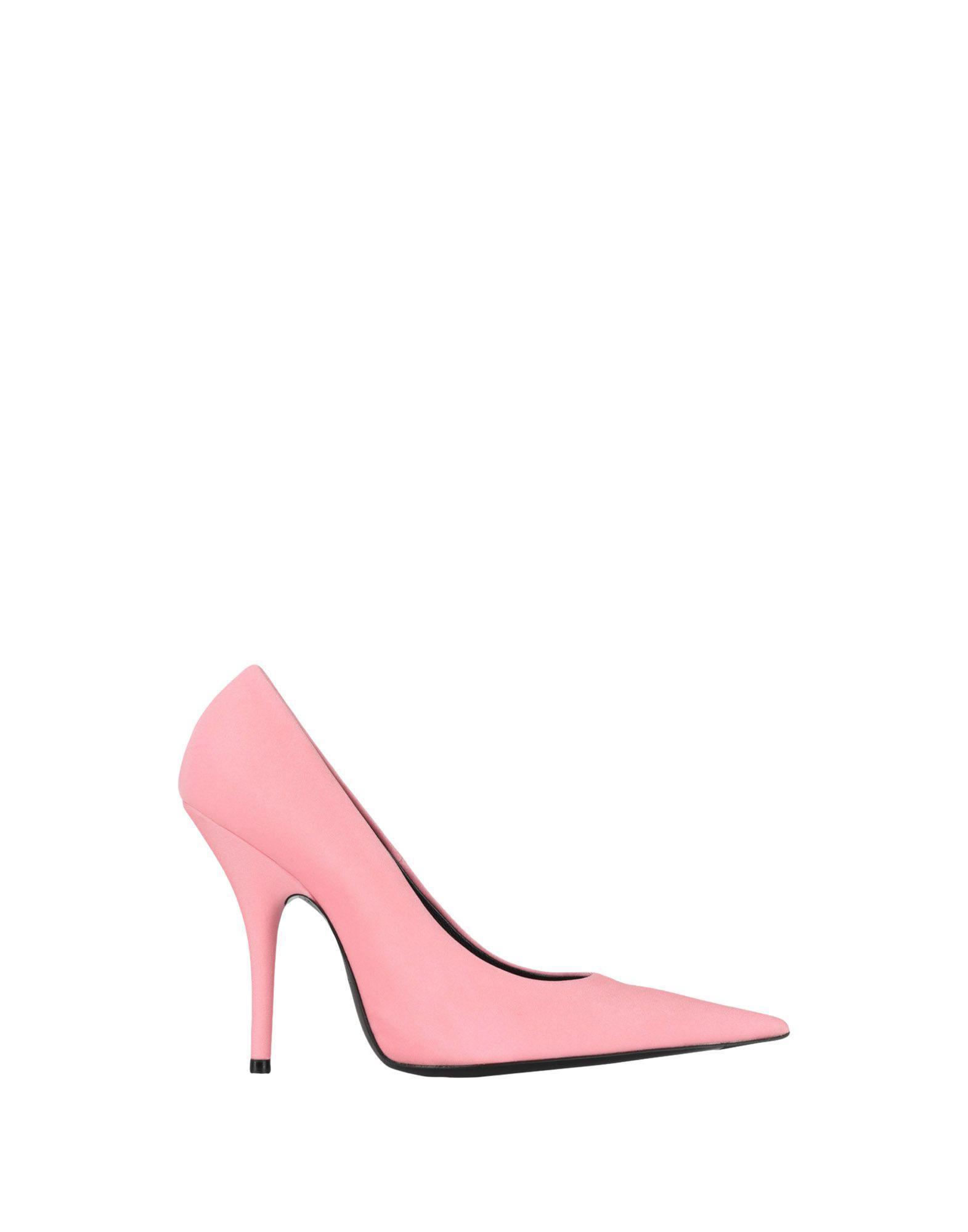 Zapatos de salón Balenciaga de Raso de color Rosa