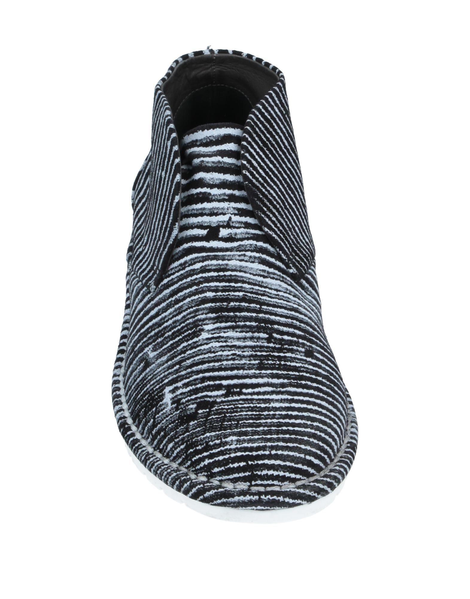 Botines de caña alta Marsèll de Cuero de color Negro