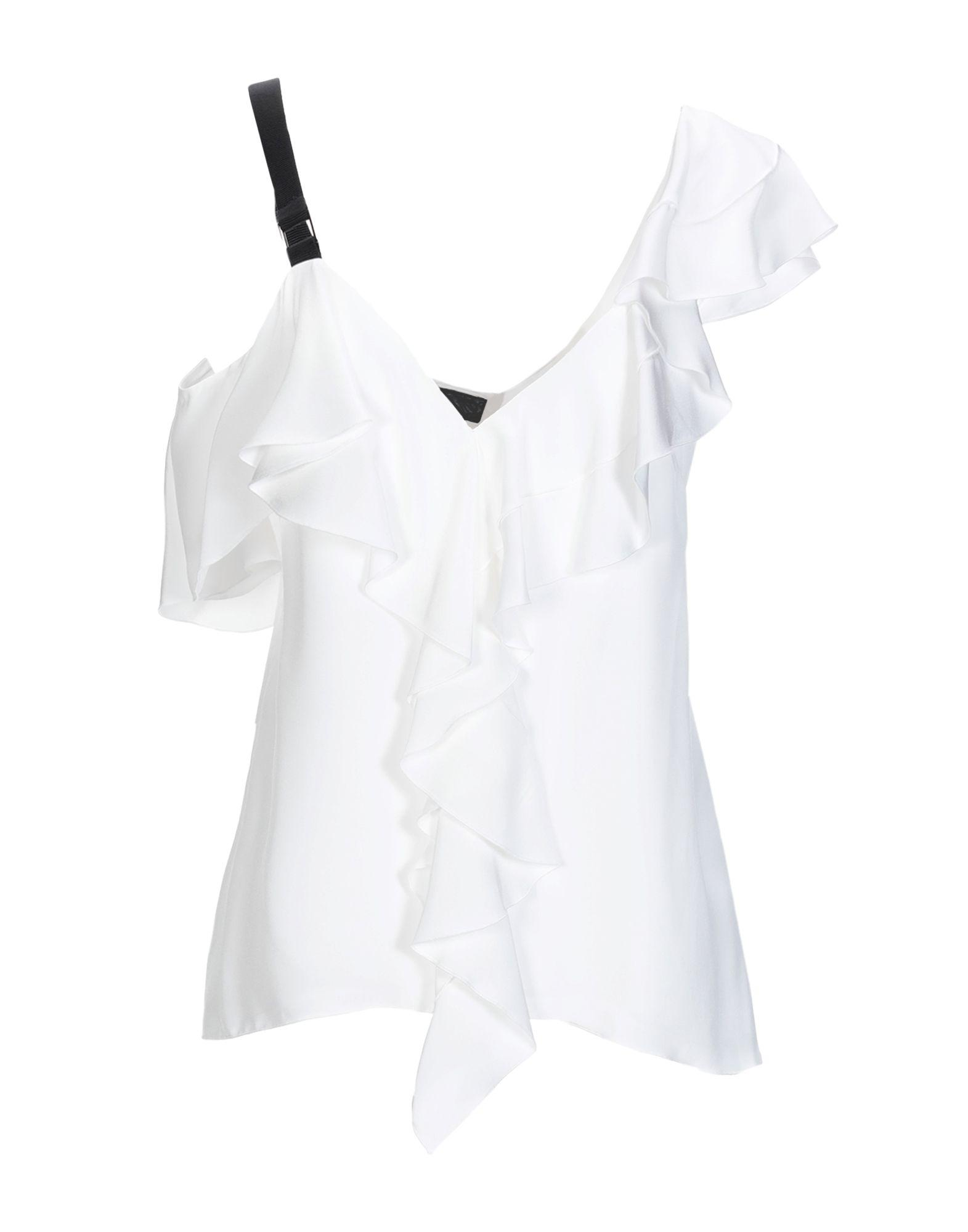 15e357219bec8 Lyst - Proenza Schouler Top in White