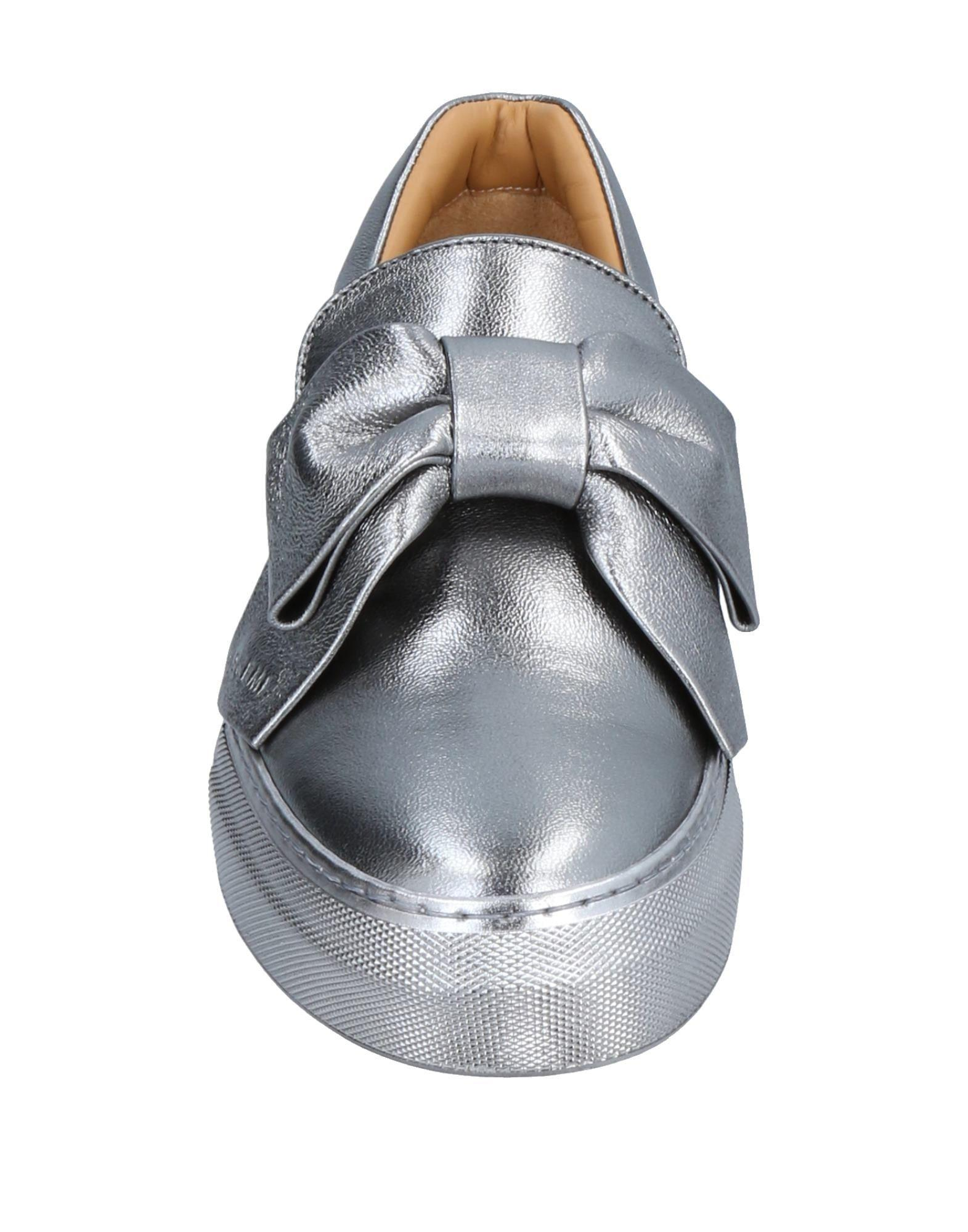 Buscemi Leather Low-tops & Sneakers in Silver (Metallic)