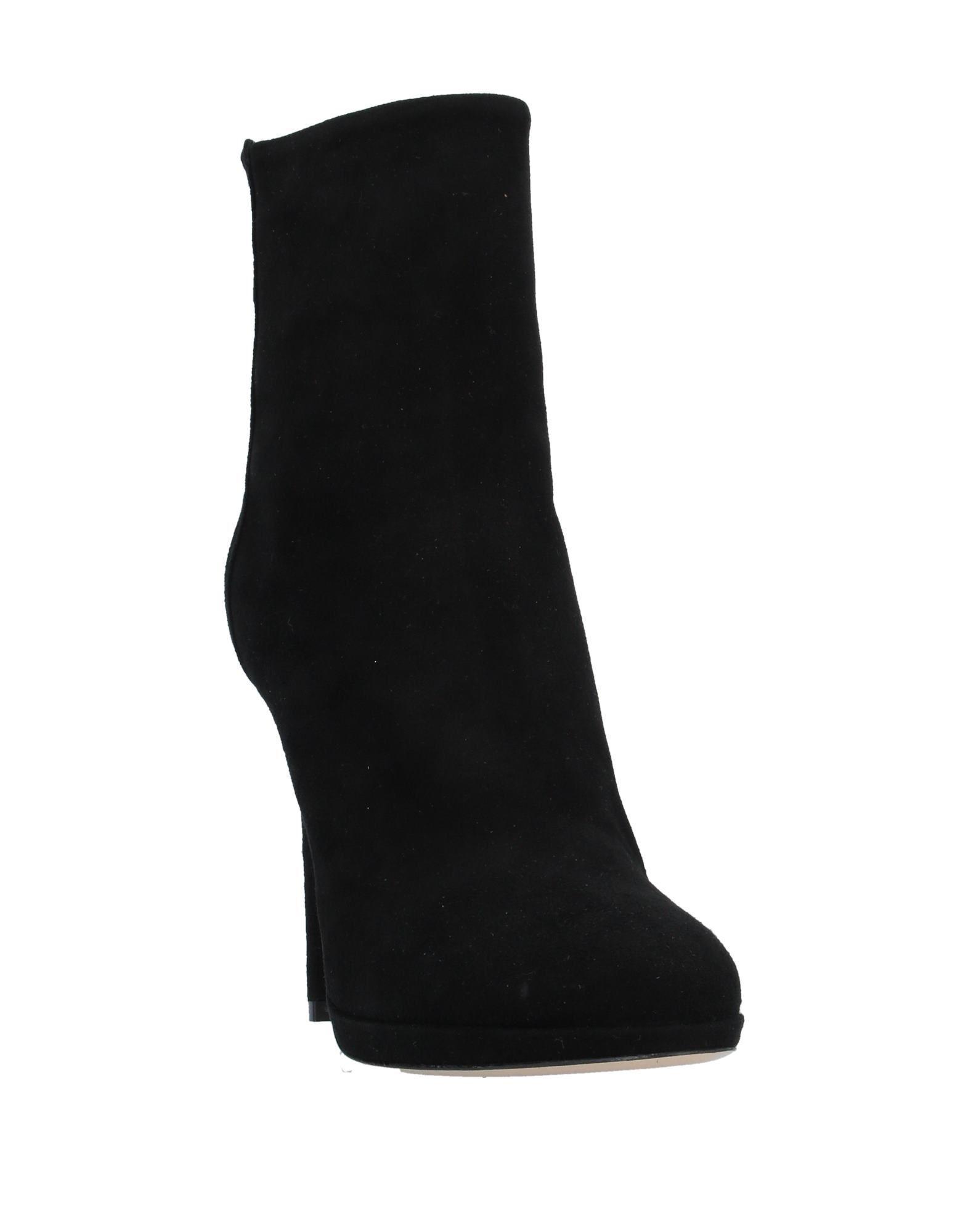 Botines de caña alta Giampaolo Viozzi de Cuero de color Negro