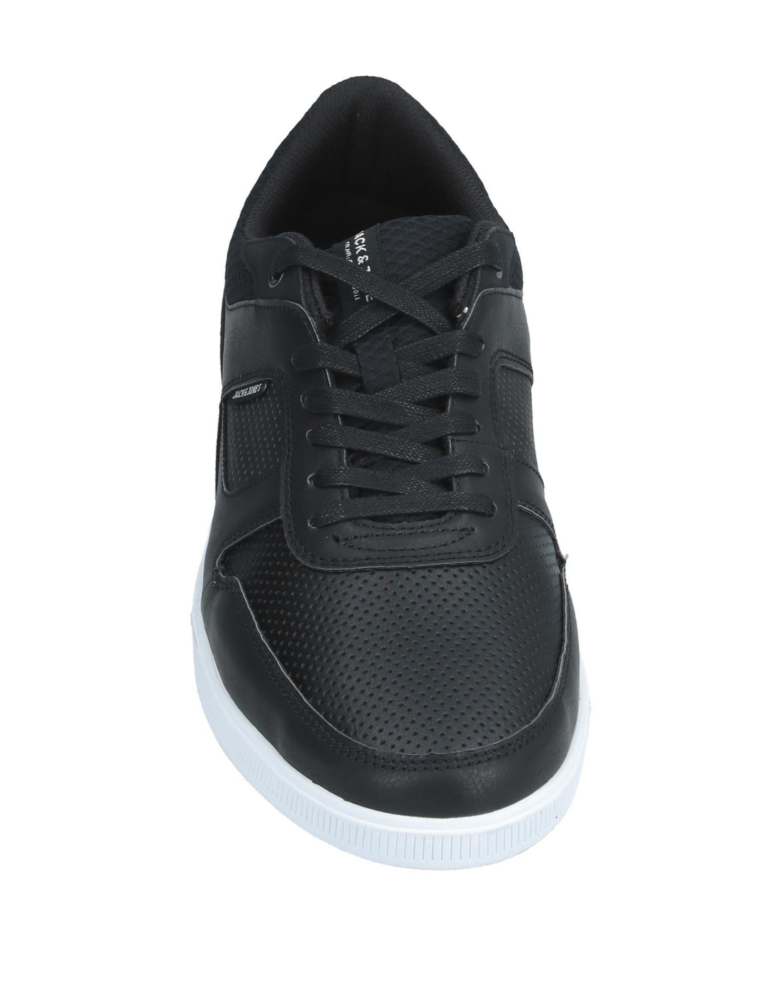 Sneakers & Deportivas Jack & Jones de Cuero de color Negro para hombre