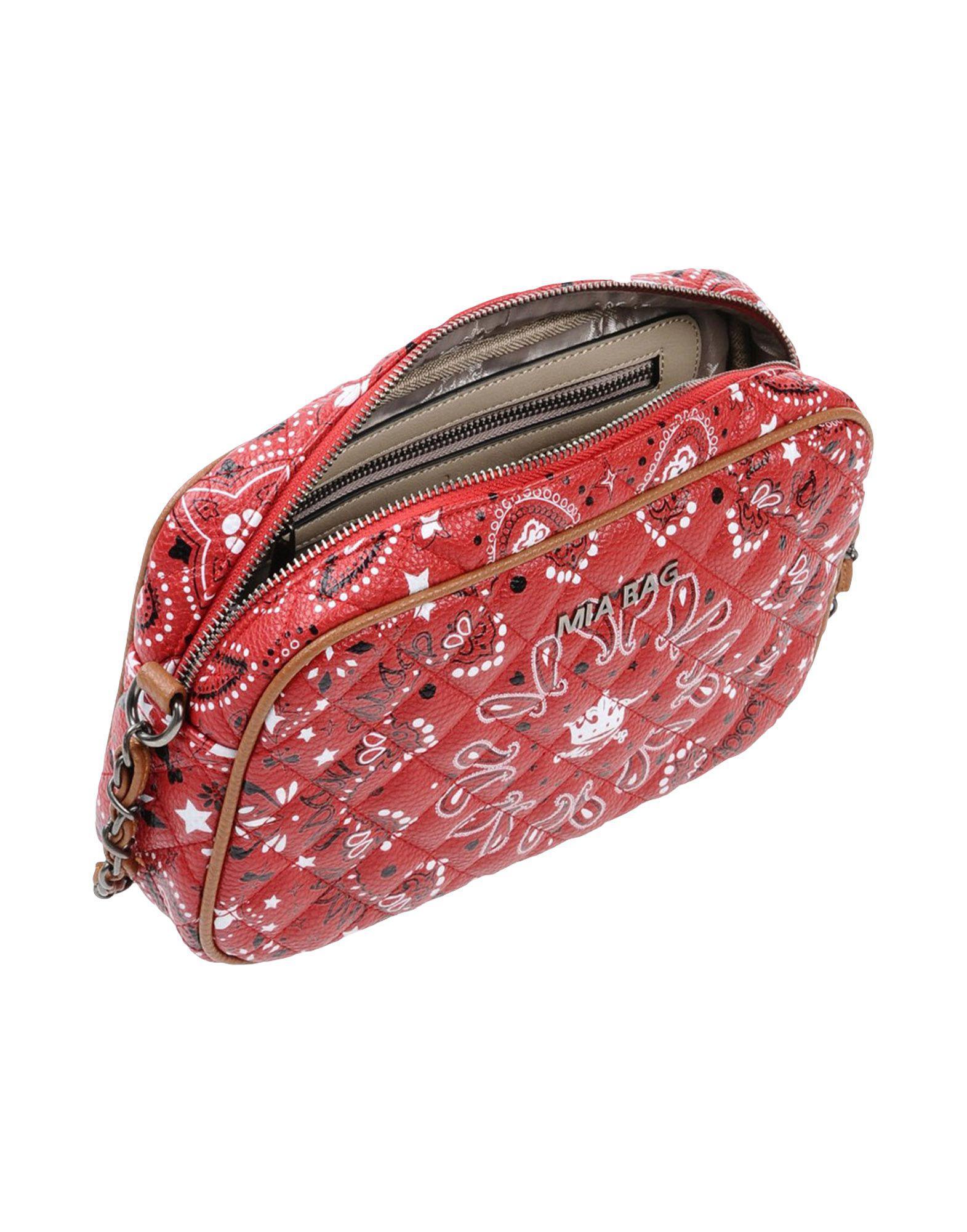 Mia Bag Cross-body Bag in Red