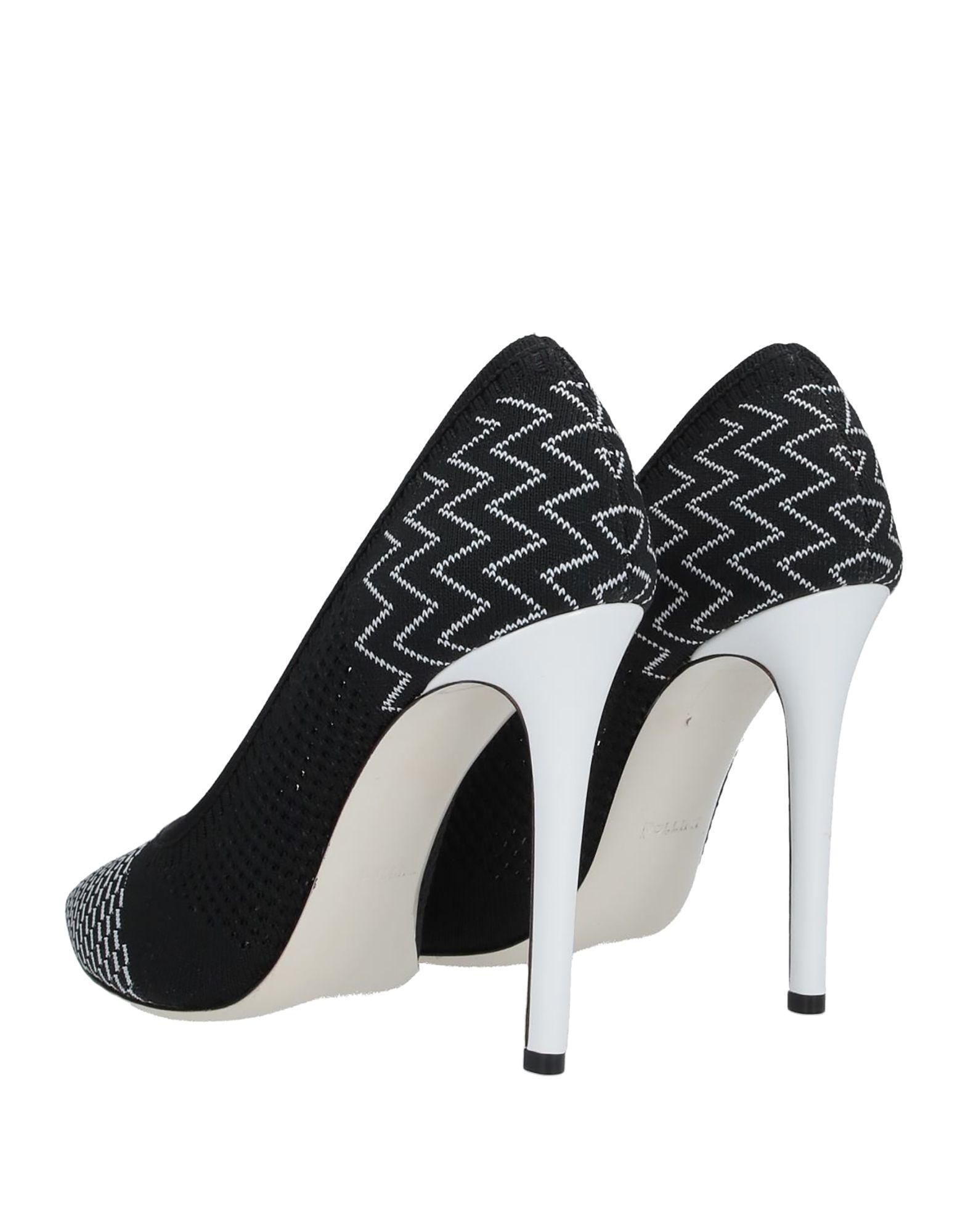 Zapatos de salón Pollini de Cuero de color Negro