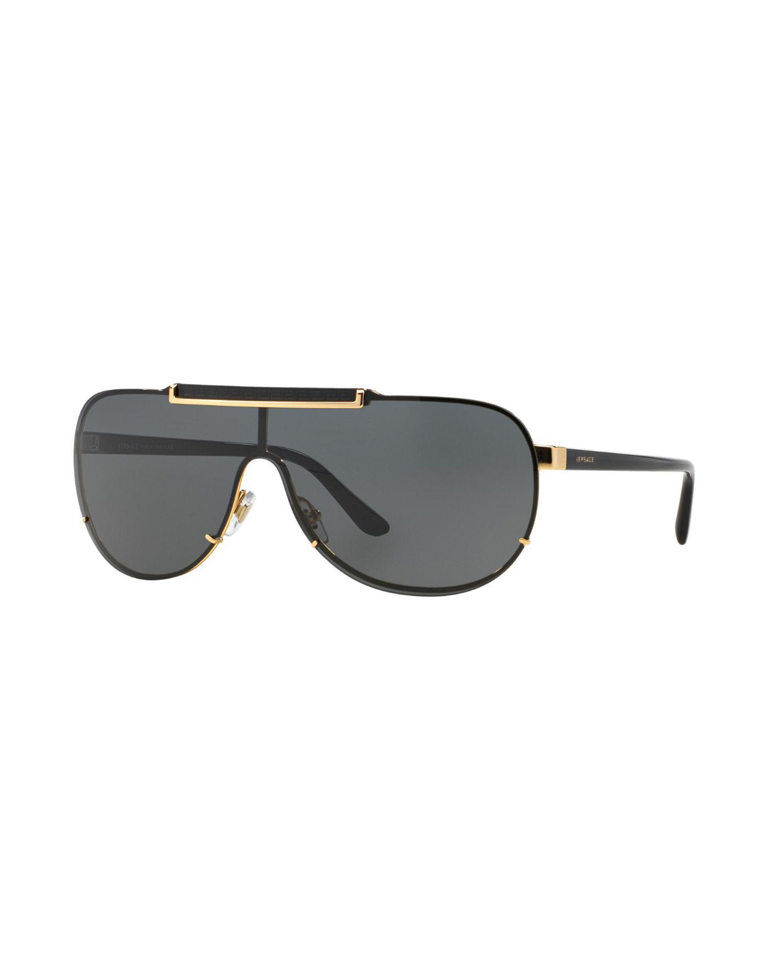 8111ca9cef Versace Sunglasses in Metallic for Men - Lyst